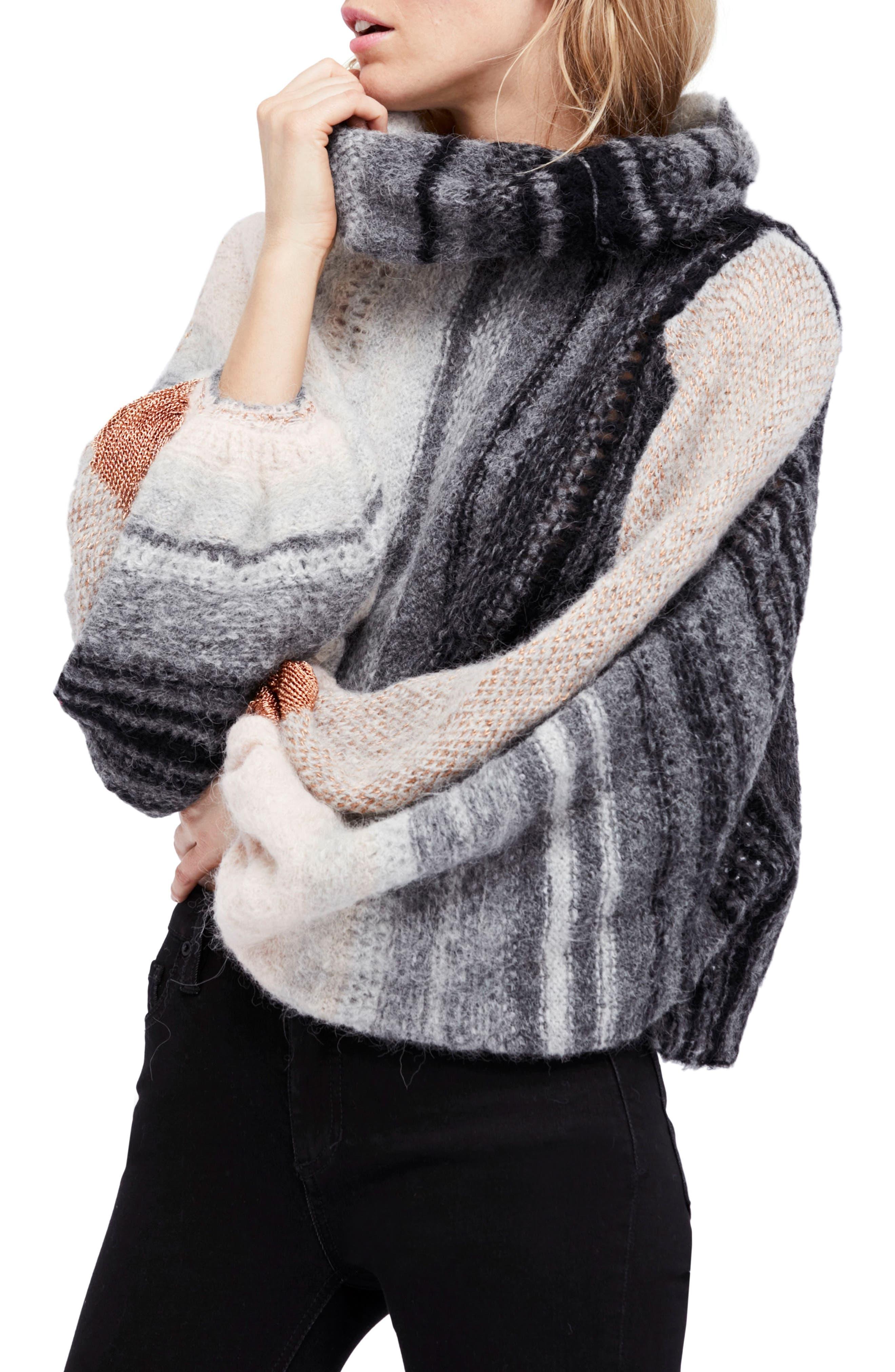 Free People Cloud Kicker Sweater