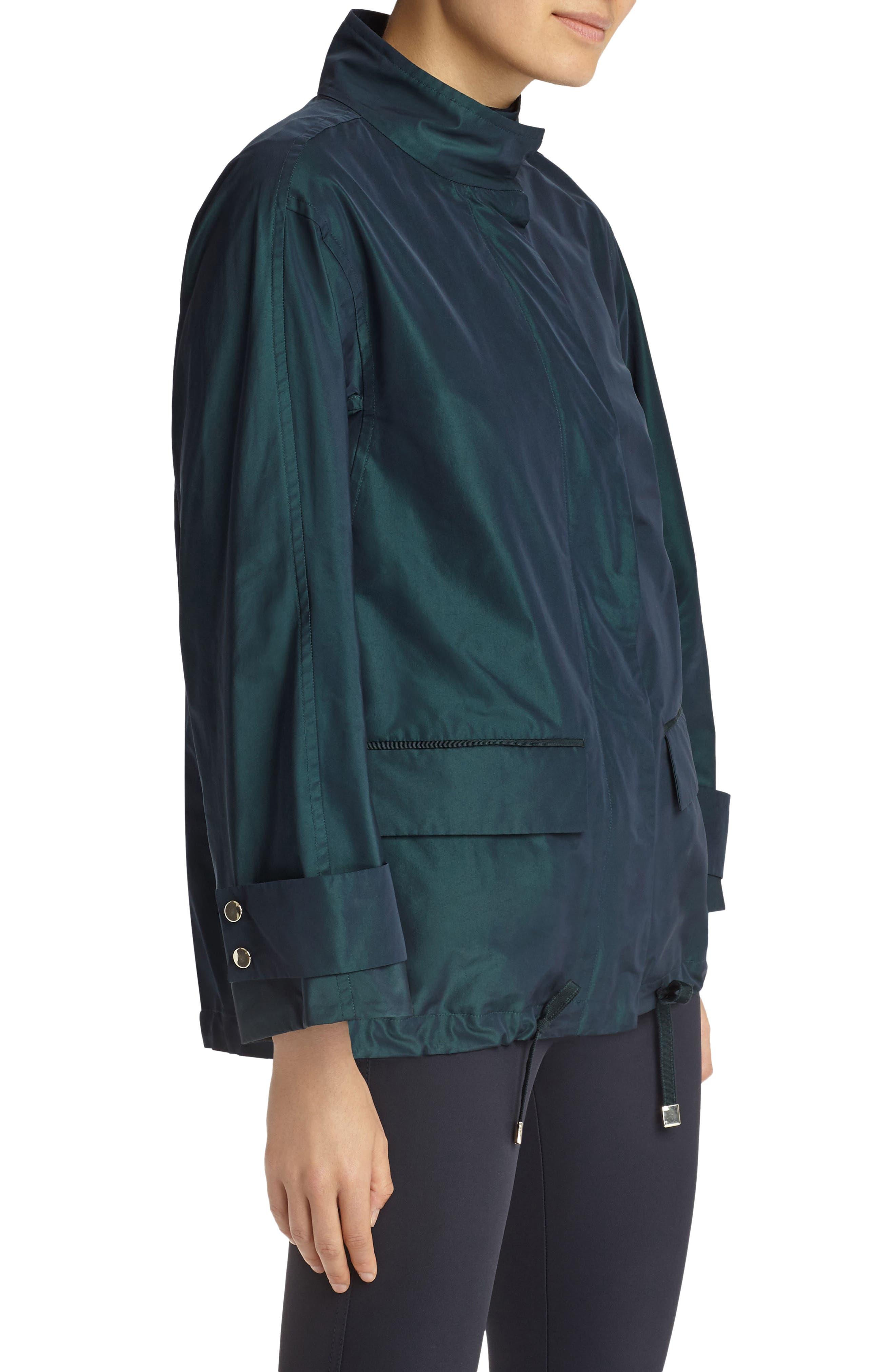 Markus Empirical Tech Cloth Jacket,                             Alternate thumbnail 3, color,                             Blue Spruce Iridescent