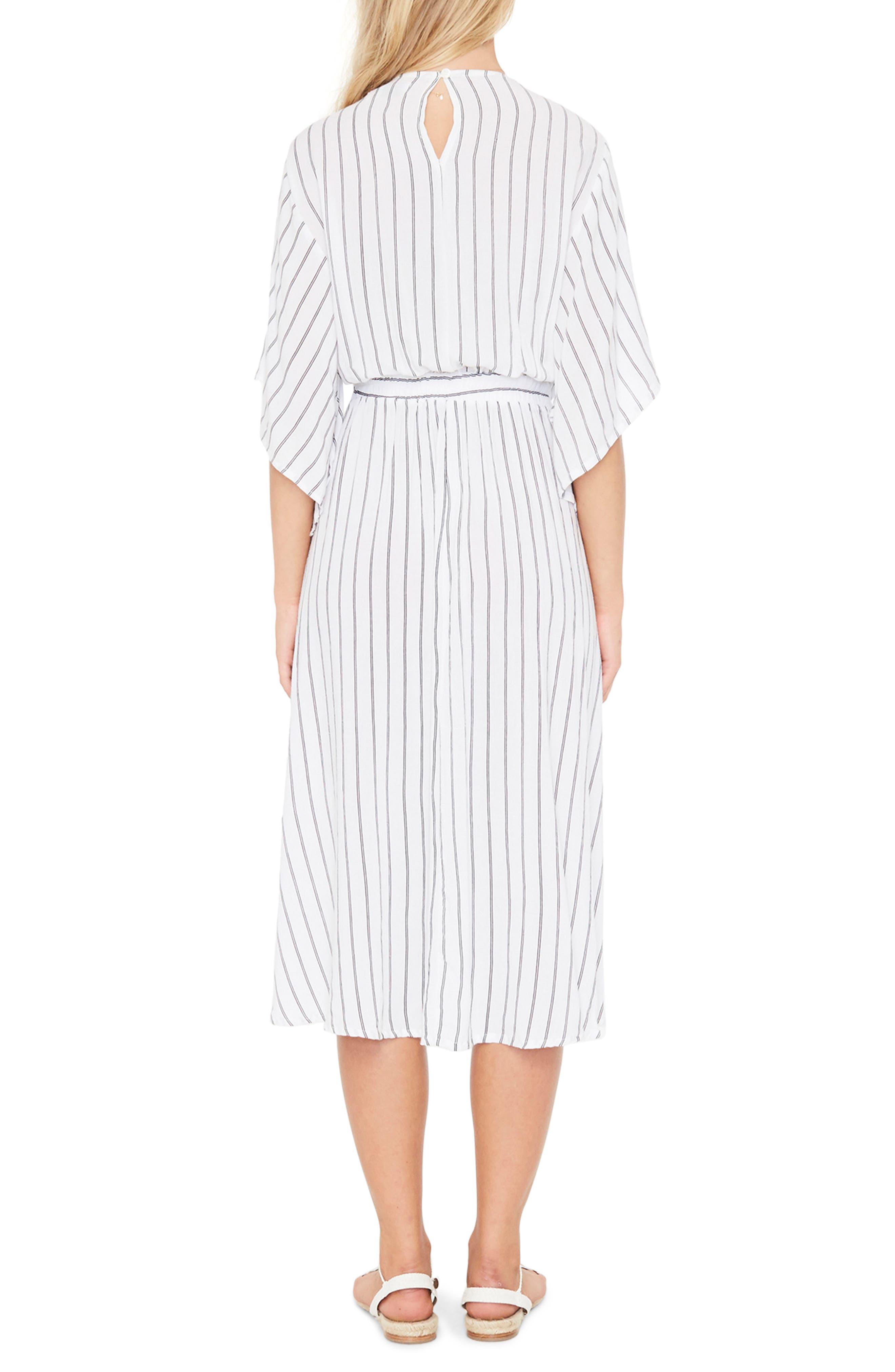Alternate Image 3  - FAITHFULL THE BRAND Massimo Stripe Midi Dress