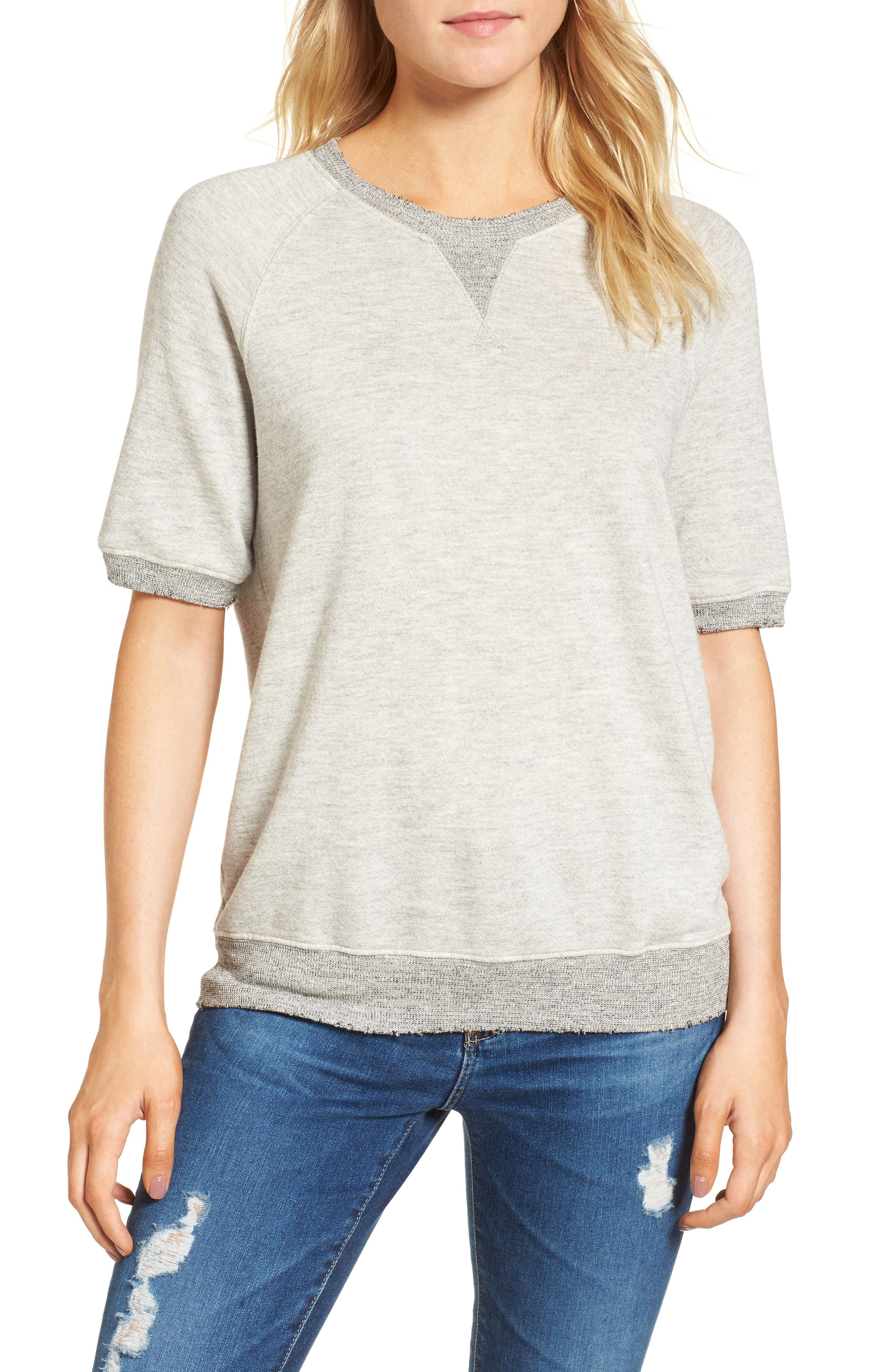 Ace Sweatshirt,                         Main,                         color, Heather Grey
