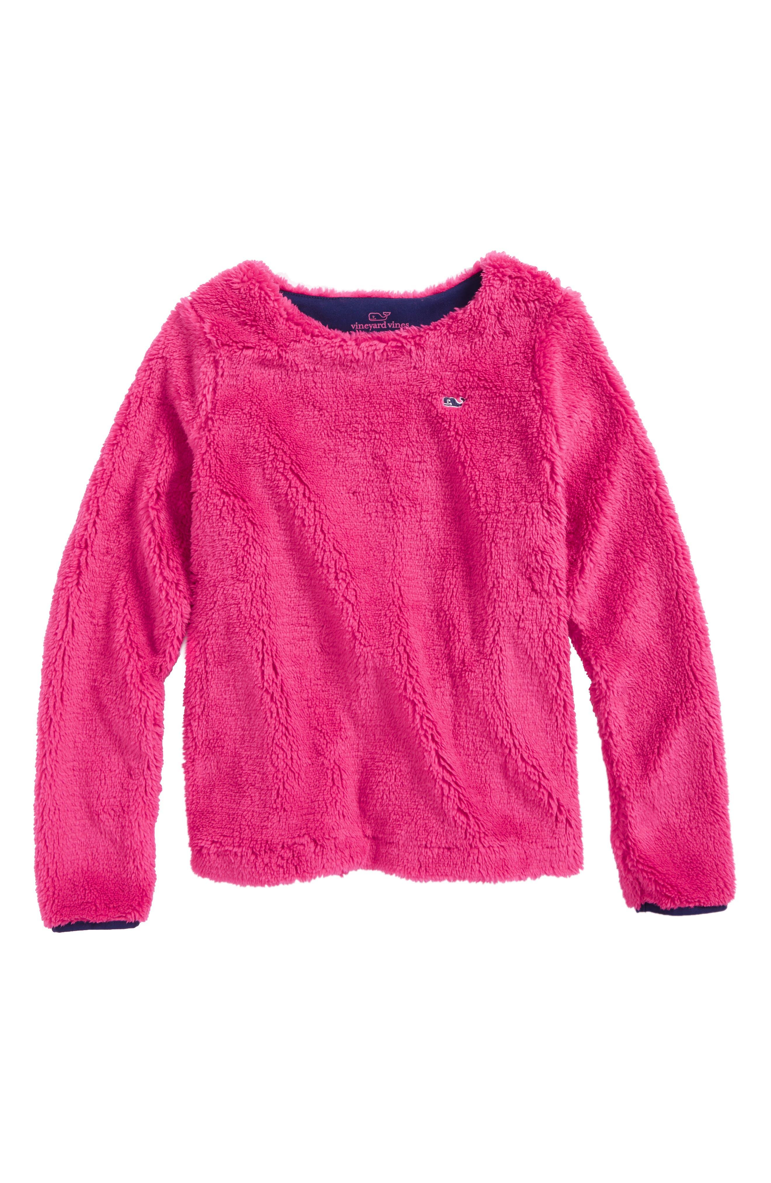 vineyard vines Fuzzy Sweatshirt (Little Girls & Big Girls)