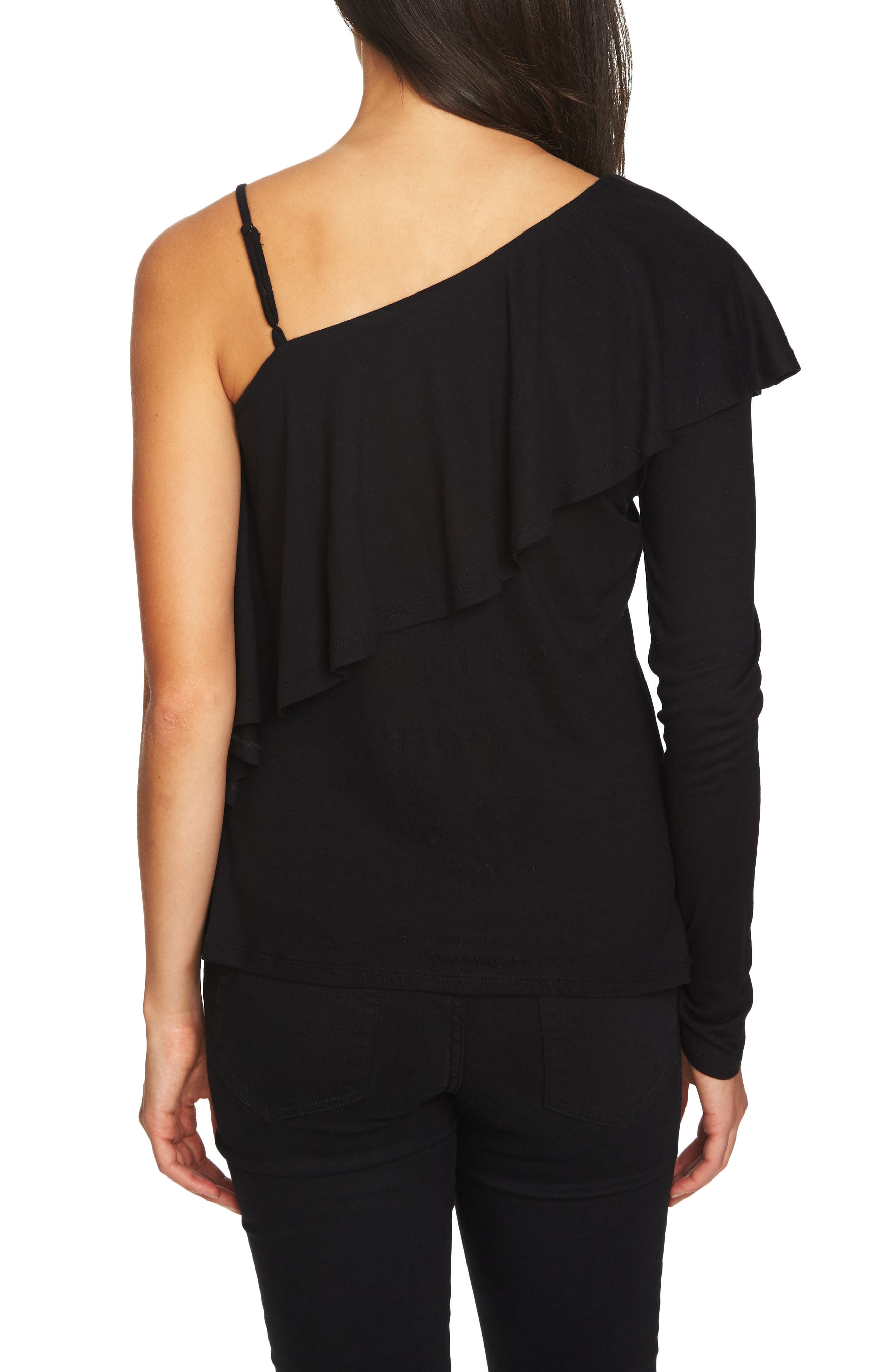 Alternate Image 2  - 1.STATE Ruffle One-Shoulder Top