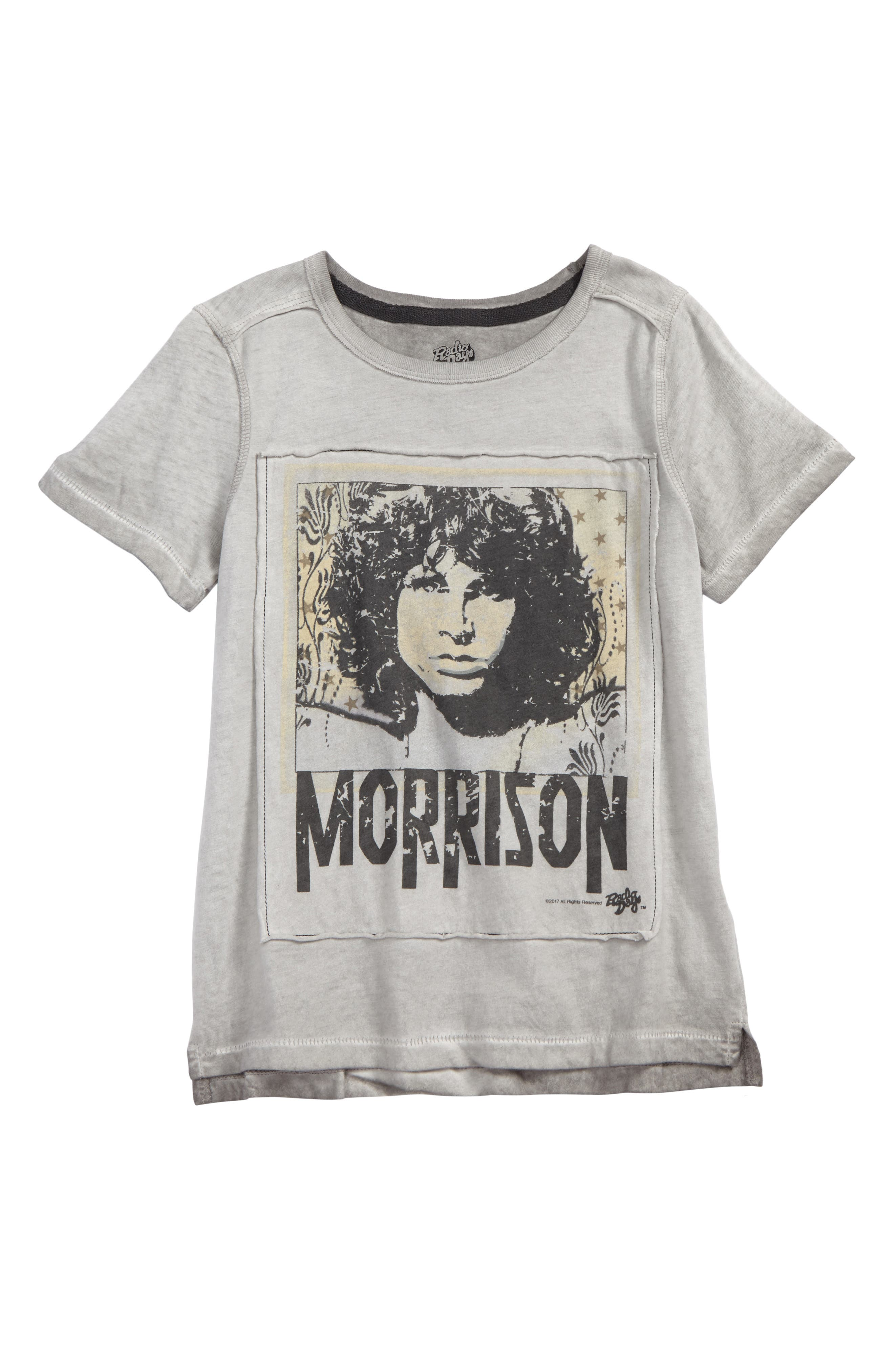 Alternate Image 1 Selected - Happy Threads Jim Morrison Graphic T-Shirt (Big Boys)