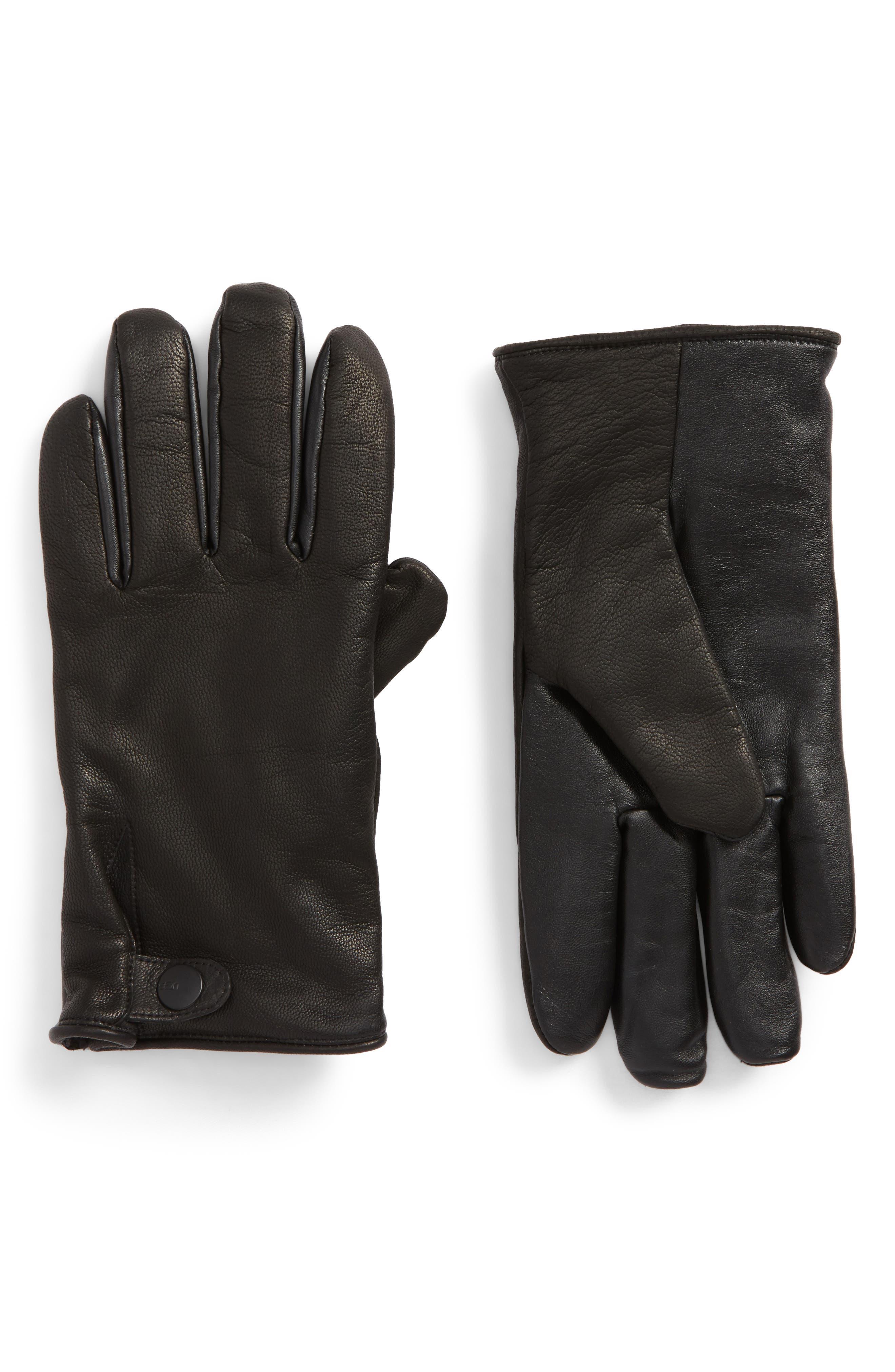 UGG® Leather Smart Gloves
