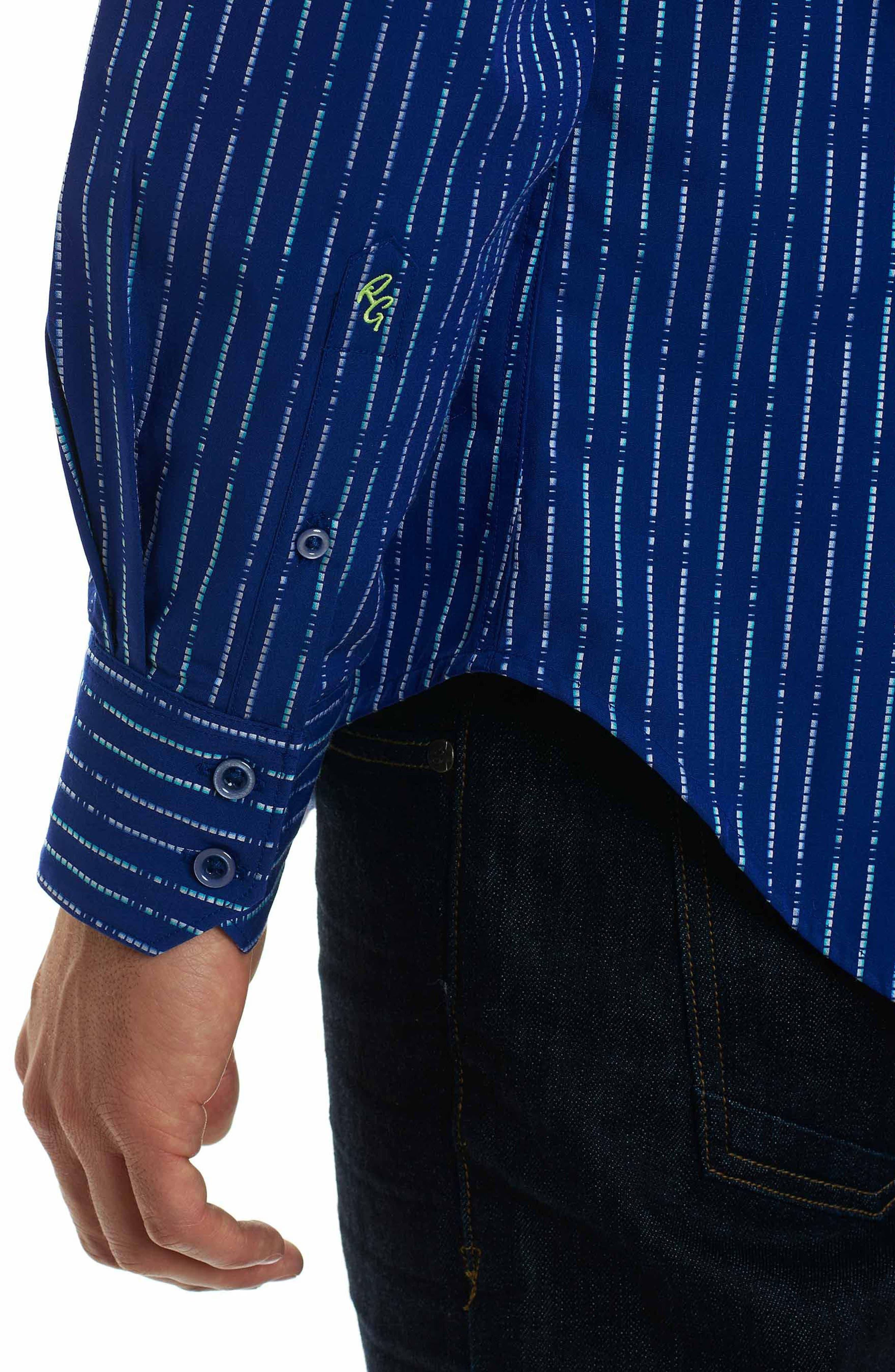 Alternate Image 6  - Robert Graham Bora Classic Fit Sport Shirt