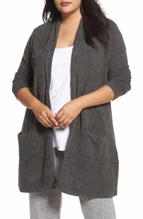 Barefoot Dreams Essential Cardigan (Plus Size)