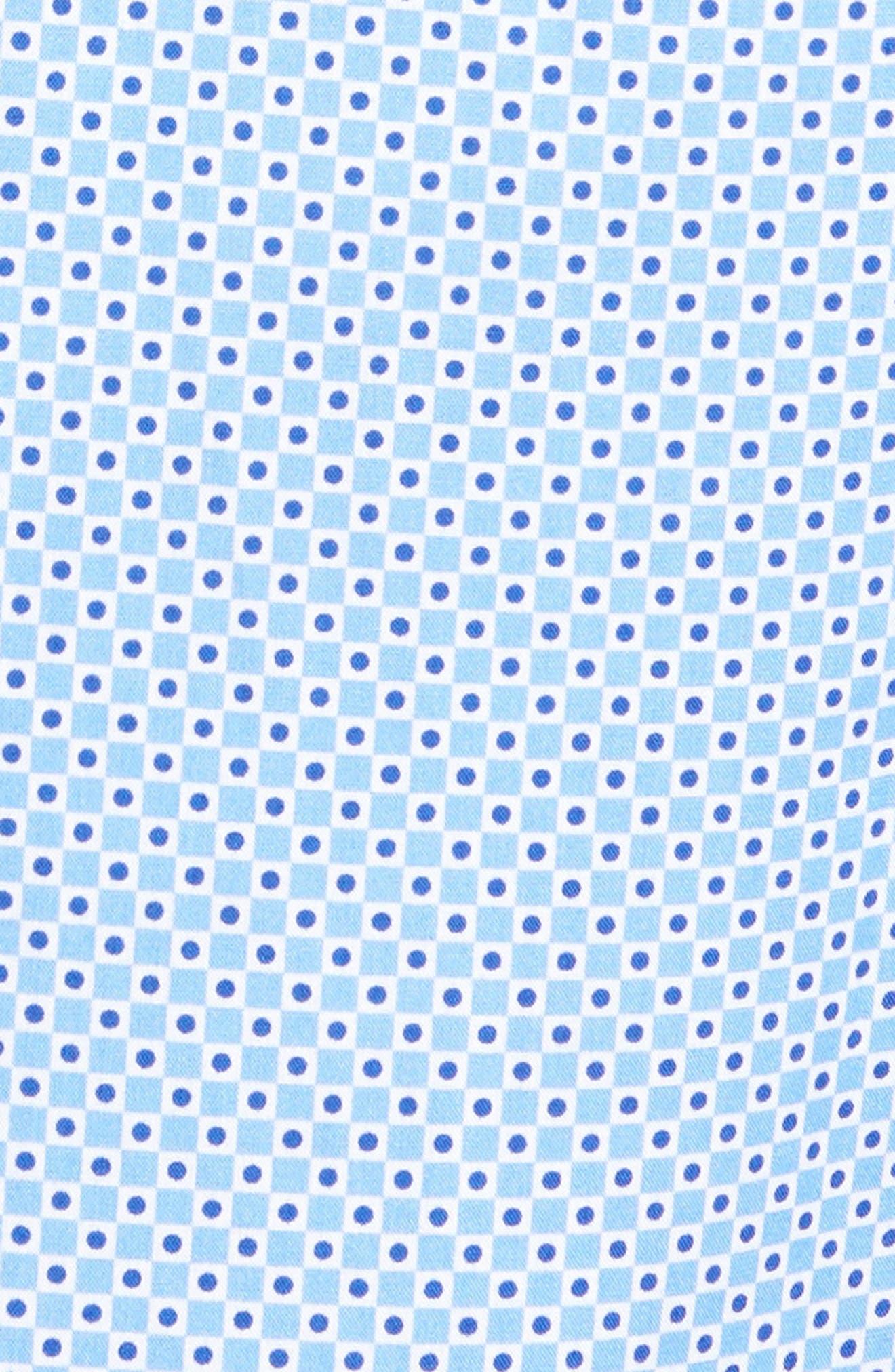 Print Sport Shirt,                             Alternate thumbnail 5, color,                             Blue