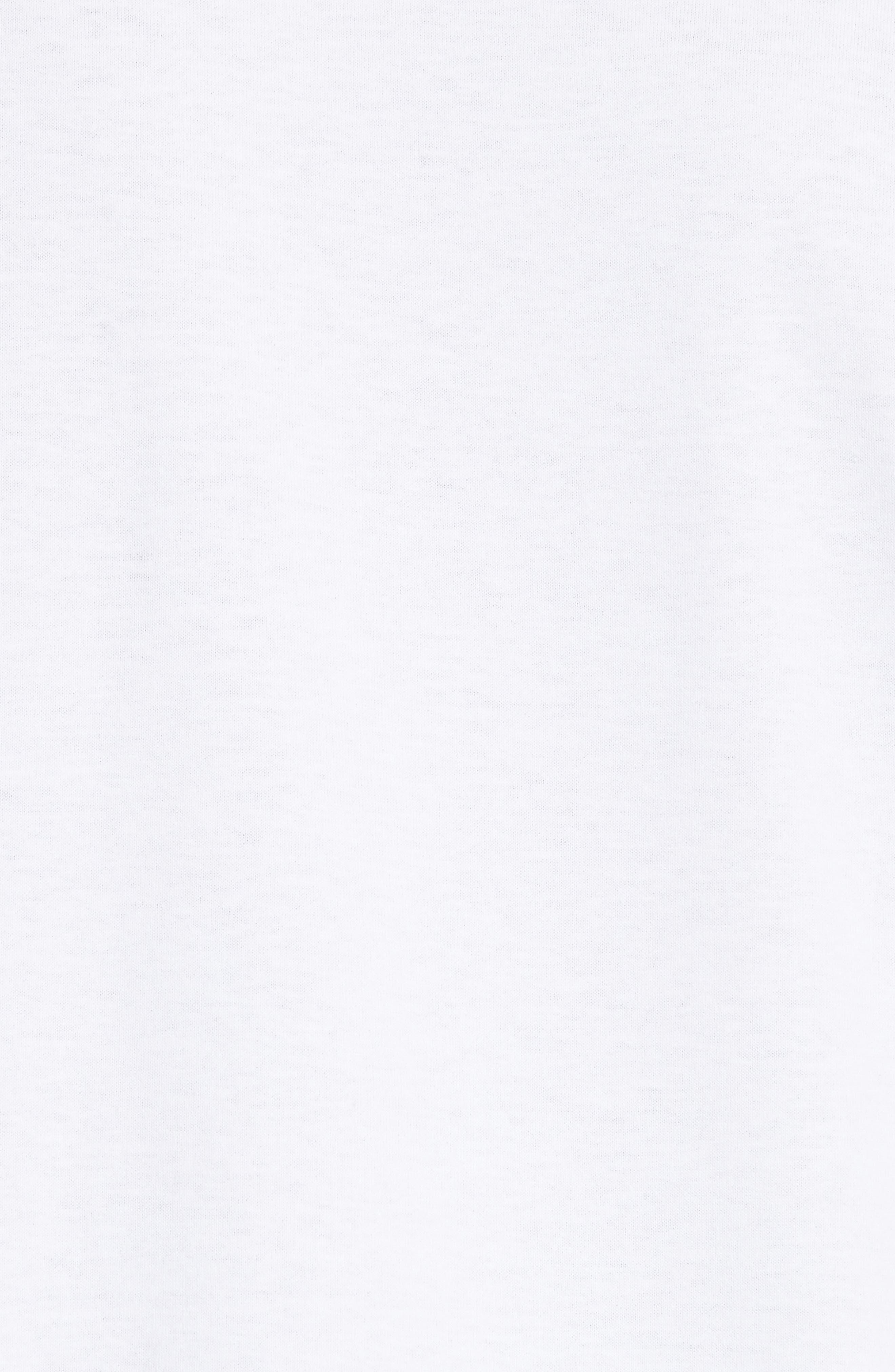 Palm Tree Graphic T-Shirt,                             Alternate thumbnail 5, color,                             Blanc Aab