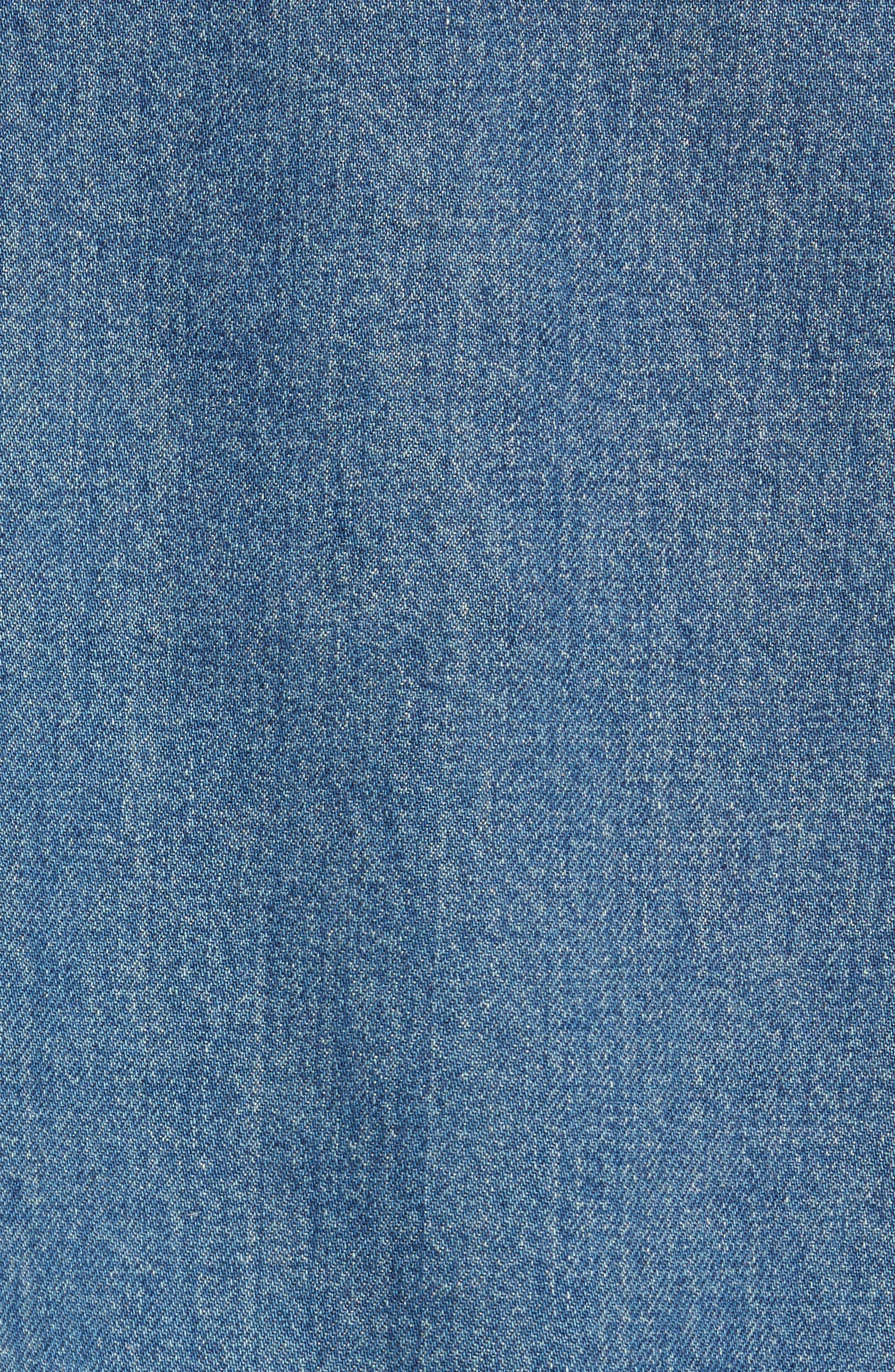 Smith Denim Jacket,                             Alternate thumbnail 5, color,                             Indigo Delave Ial