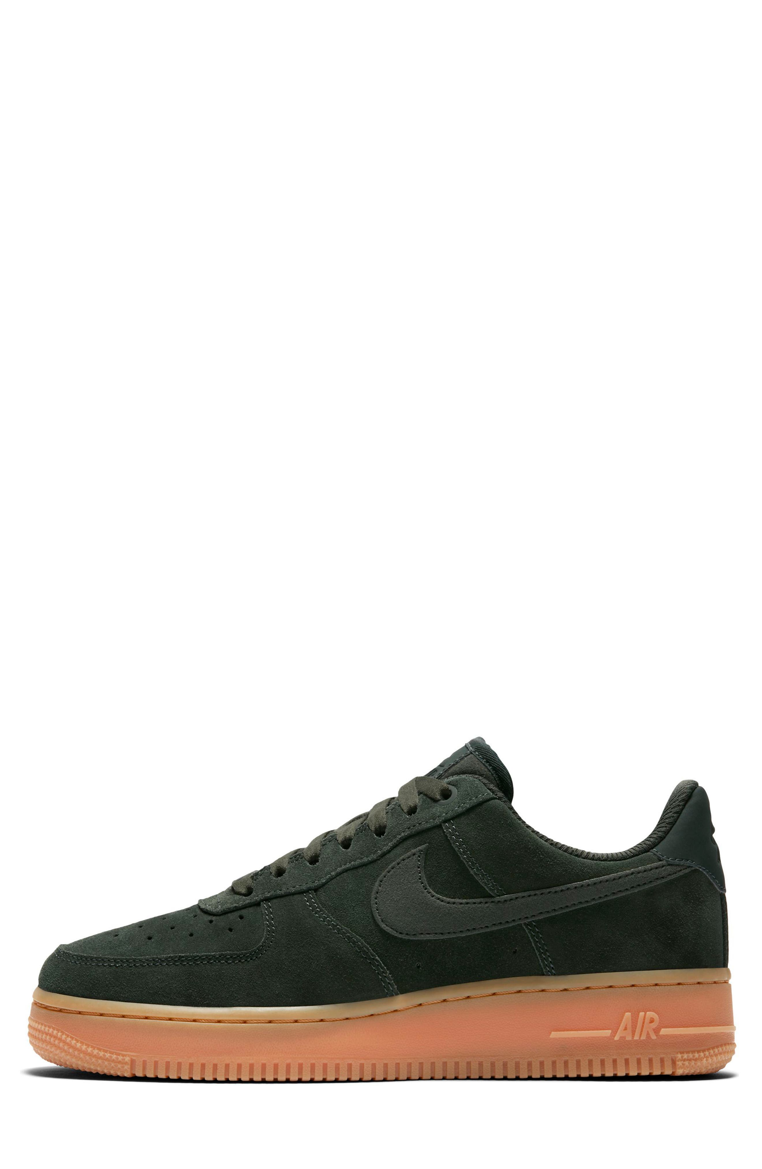Air Force 1 '07 SE Sneaker,                             Alternate thumbnail 3, color,                             Outdoor Green/ Outdoor Green