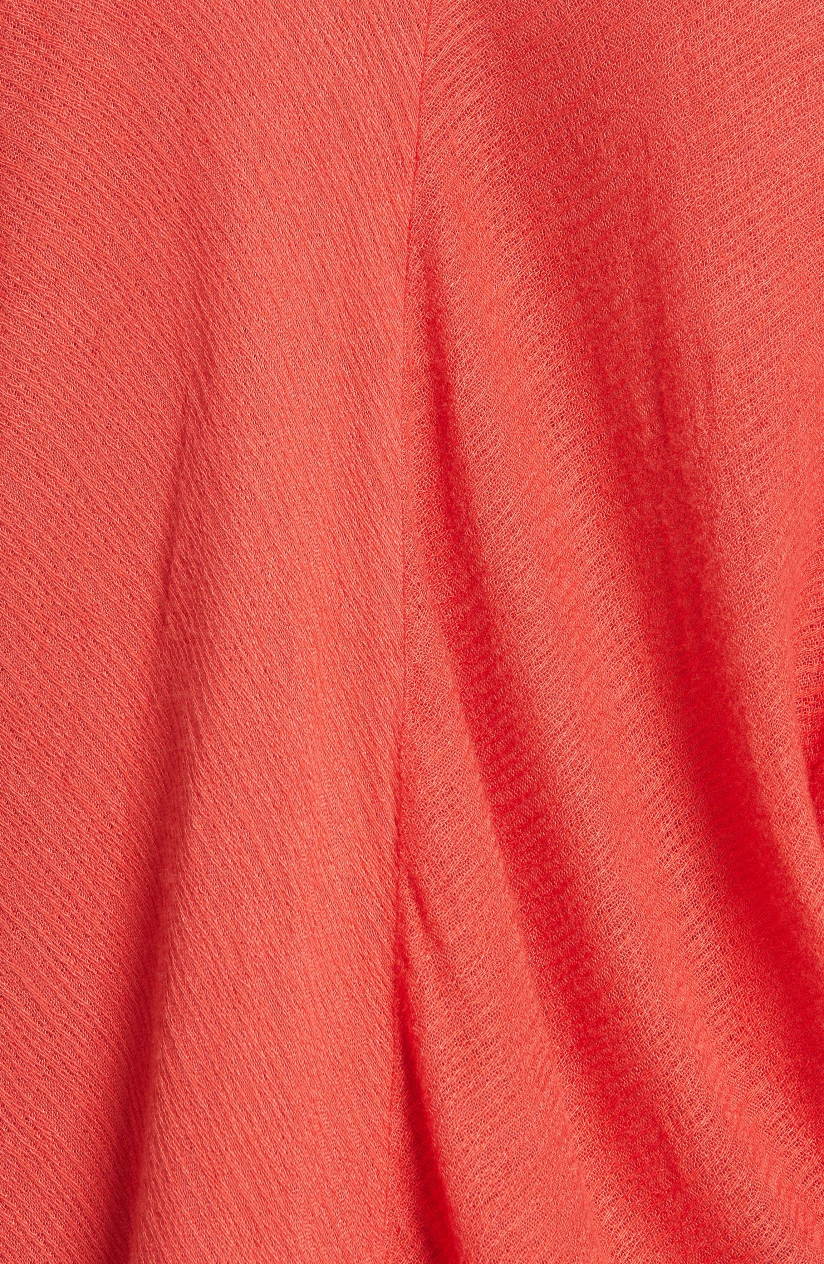 Alternate Image 5  - Free People Morning Dolman Sleeve Blouse