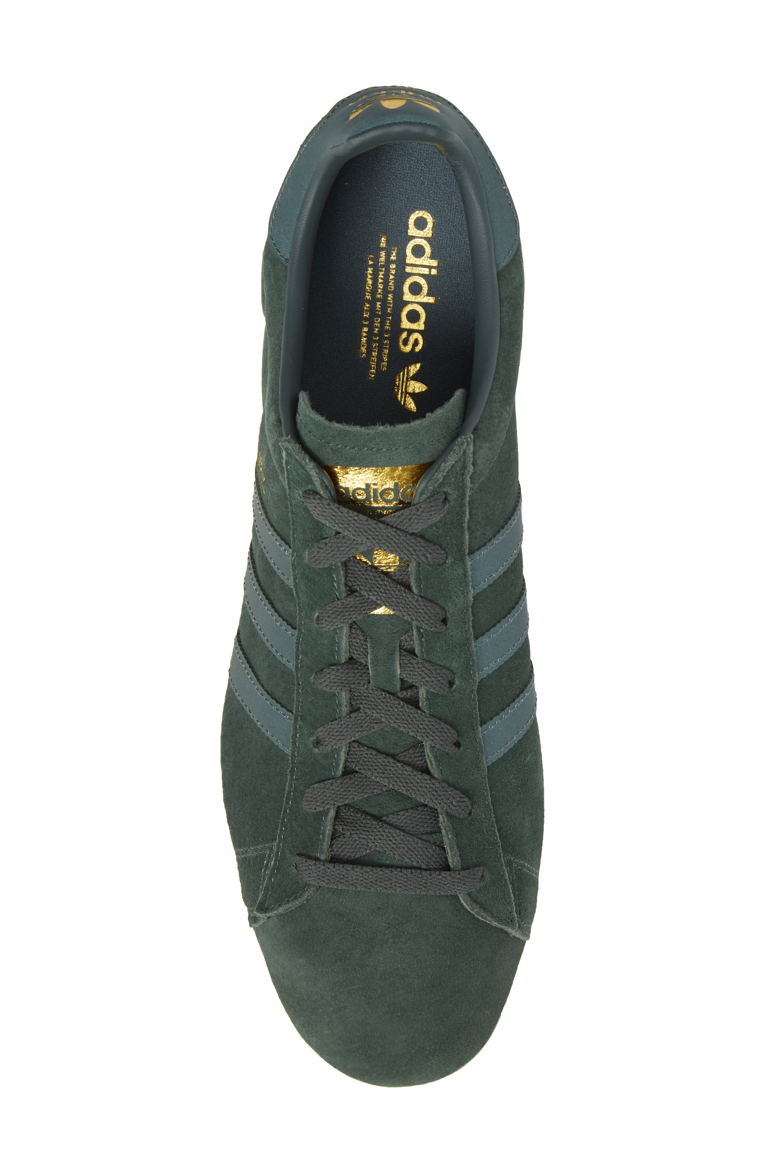 Campus Sneaker,                             Alternate thumbnail 5, color,                             Utility Ivy/ Reflective/ Gold