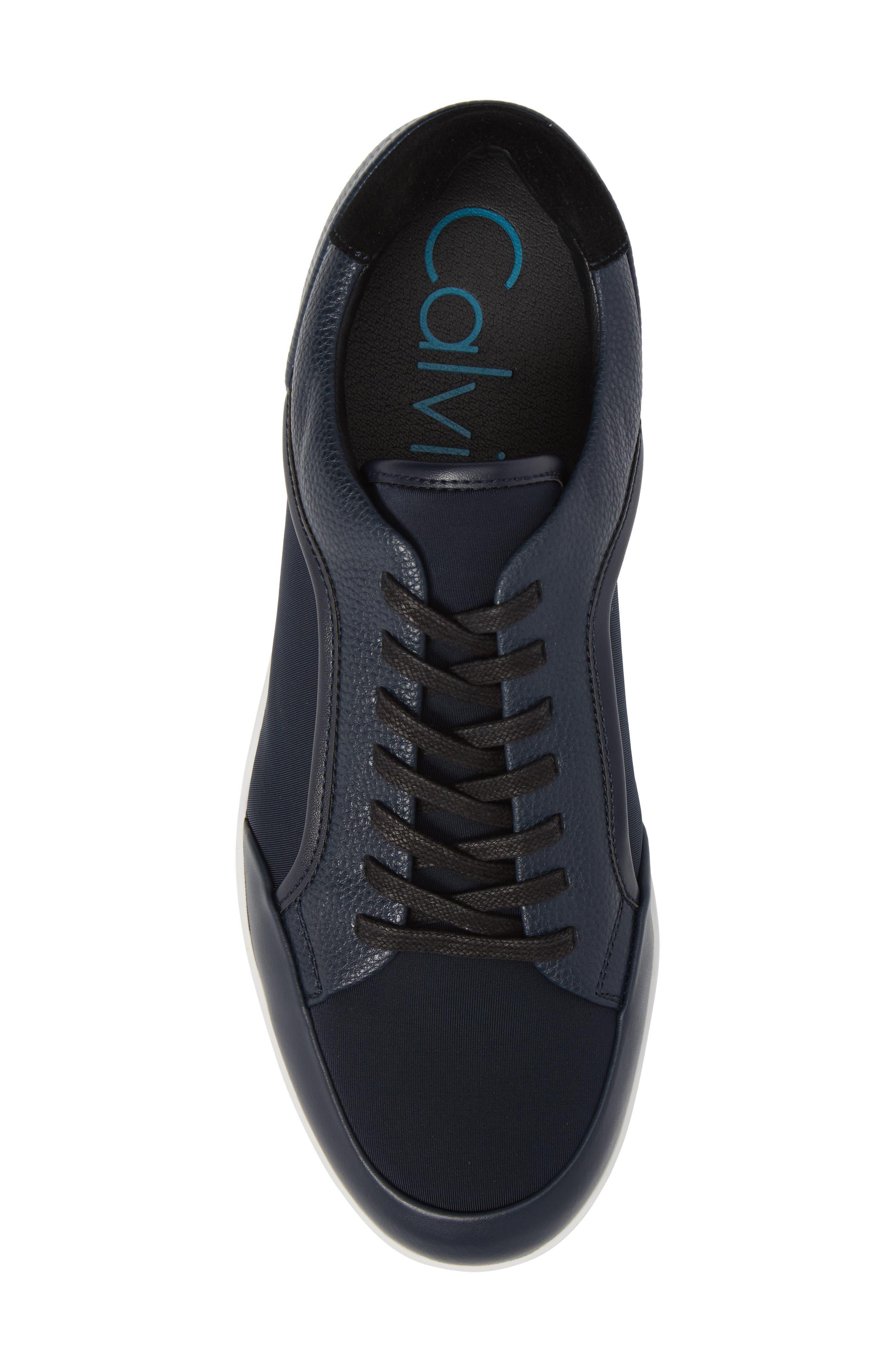 Masen Sneaker,                             Alternate thumbnail 5, color,                             Dark Navy Lyrcra