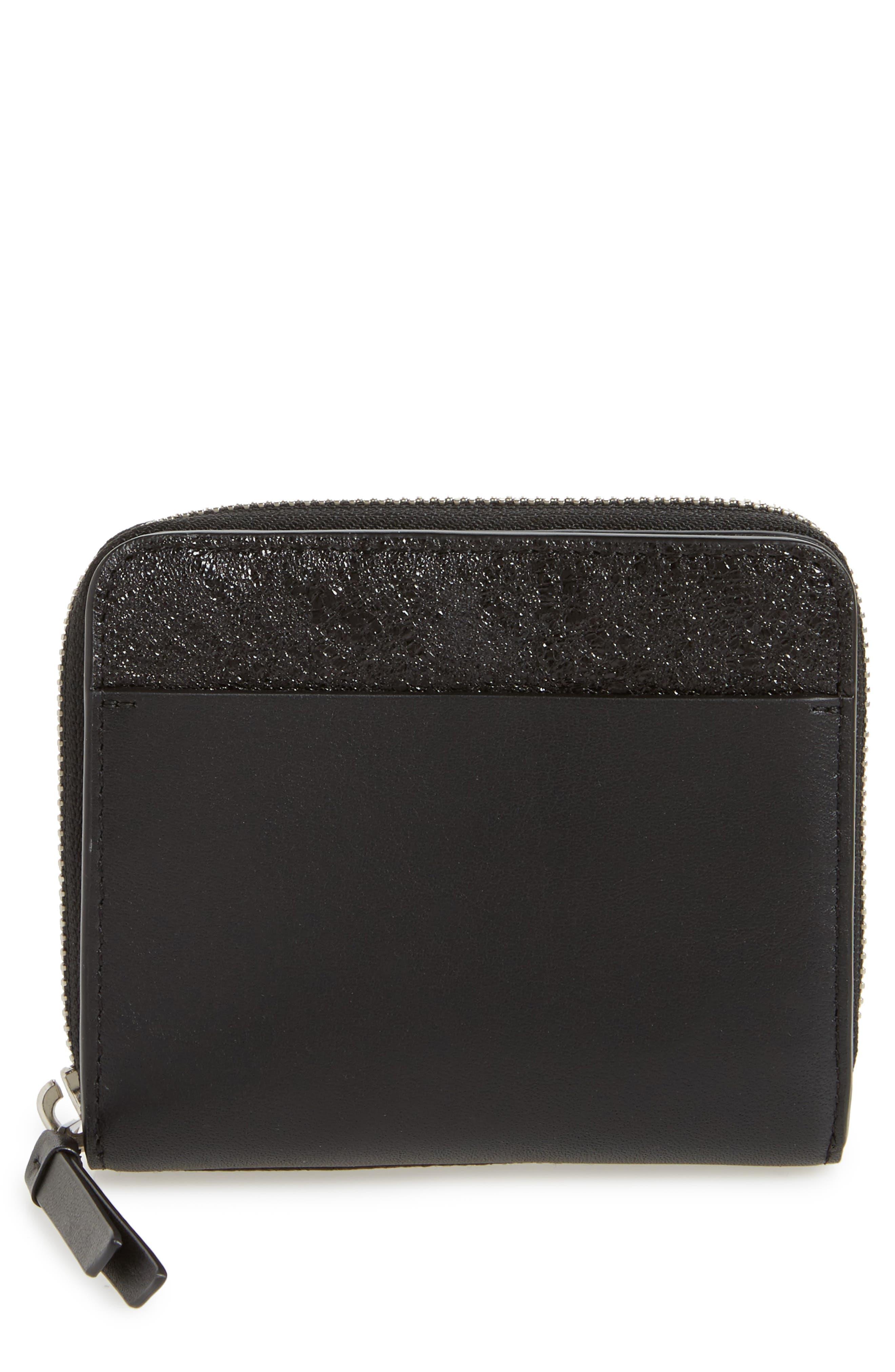 Main Image - ALLSAINTS Mast Shine Leather Wallet