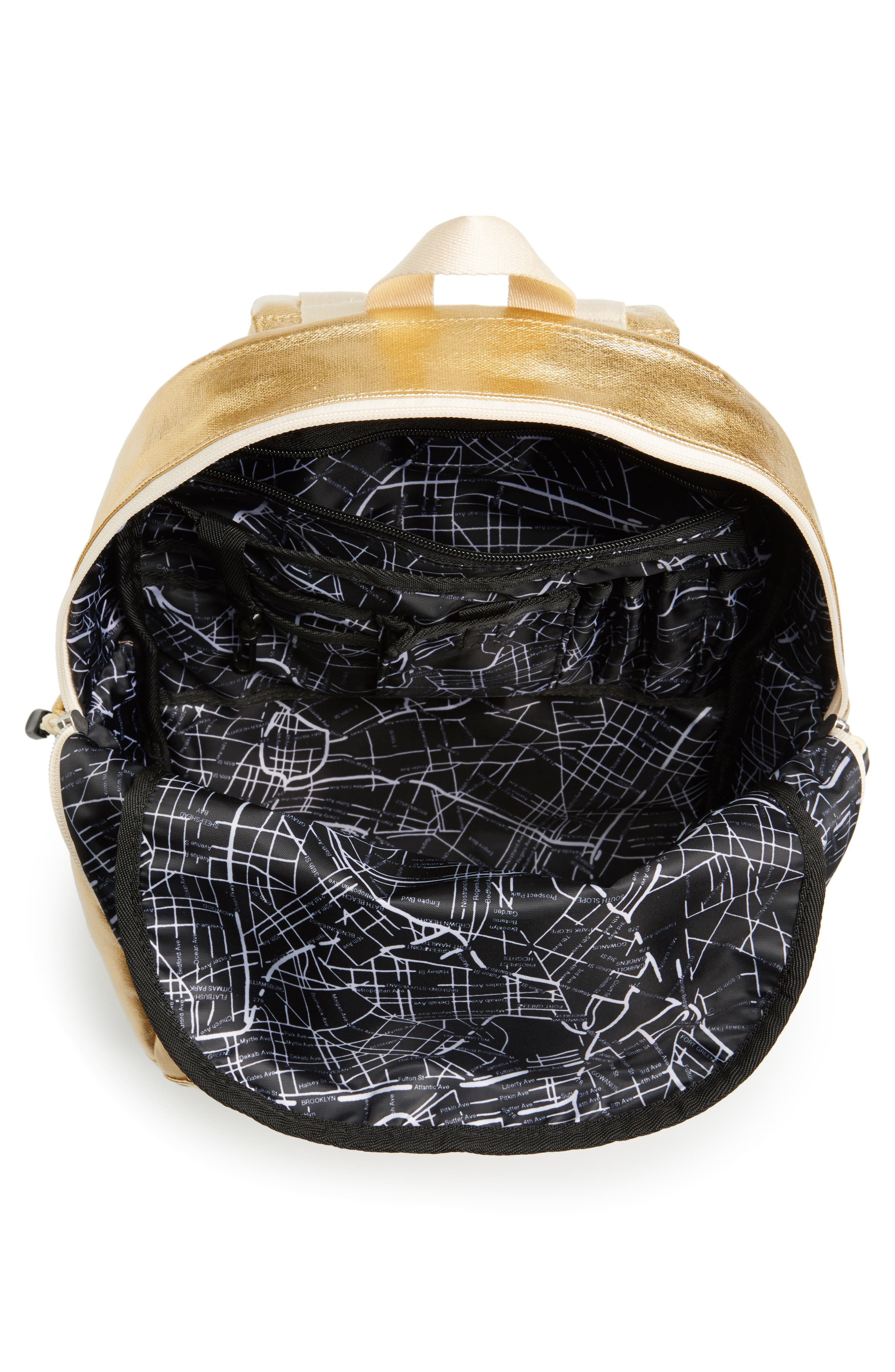 Downtown Kane Backpack,                             Alternate thumbnail 4, color,                             Gold