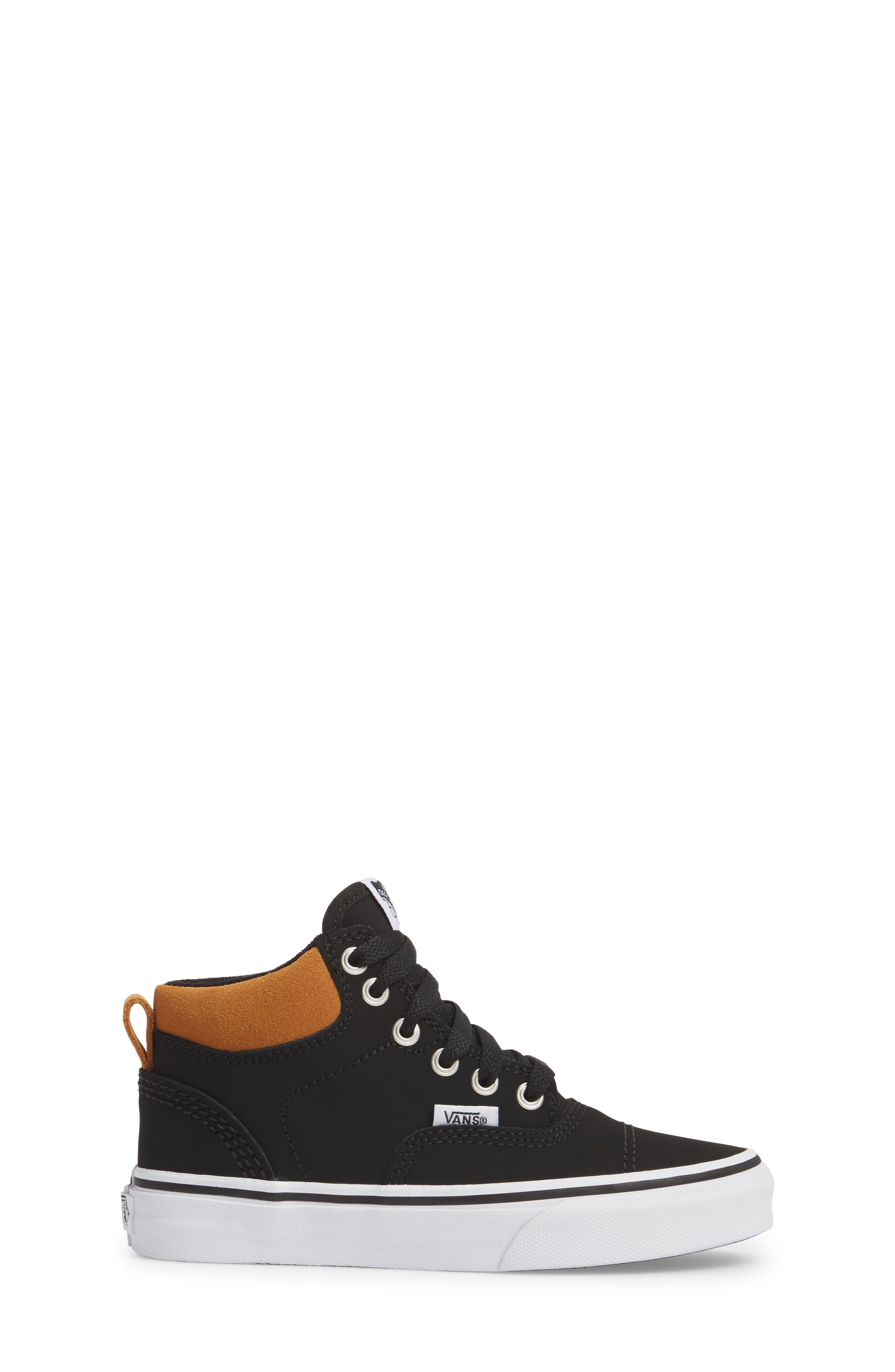 Era - Hi Sneaker,                             Alternate thumbnail 3, color,                             Vansbuck Black/ Cathay Spice