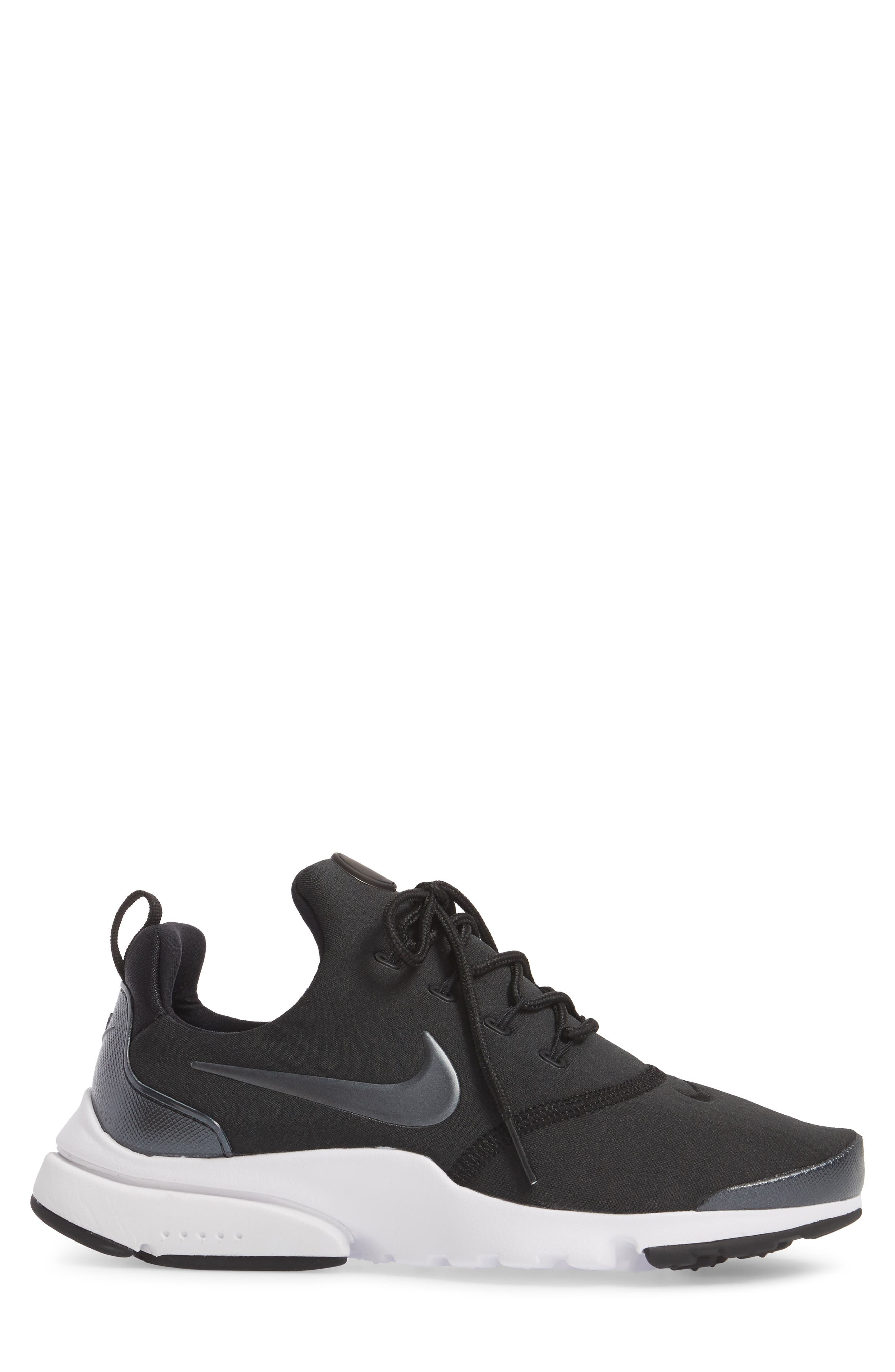 Presto Ultra SE Sneaker,                             Alternate thumbnail 3, color,                             Black/ Grey/ White