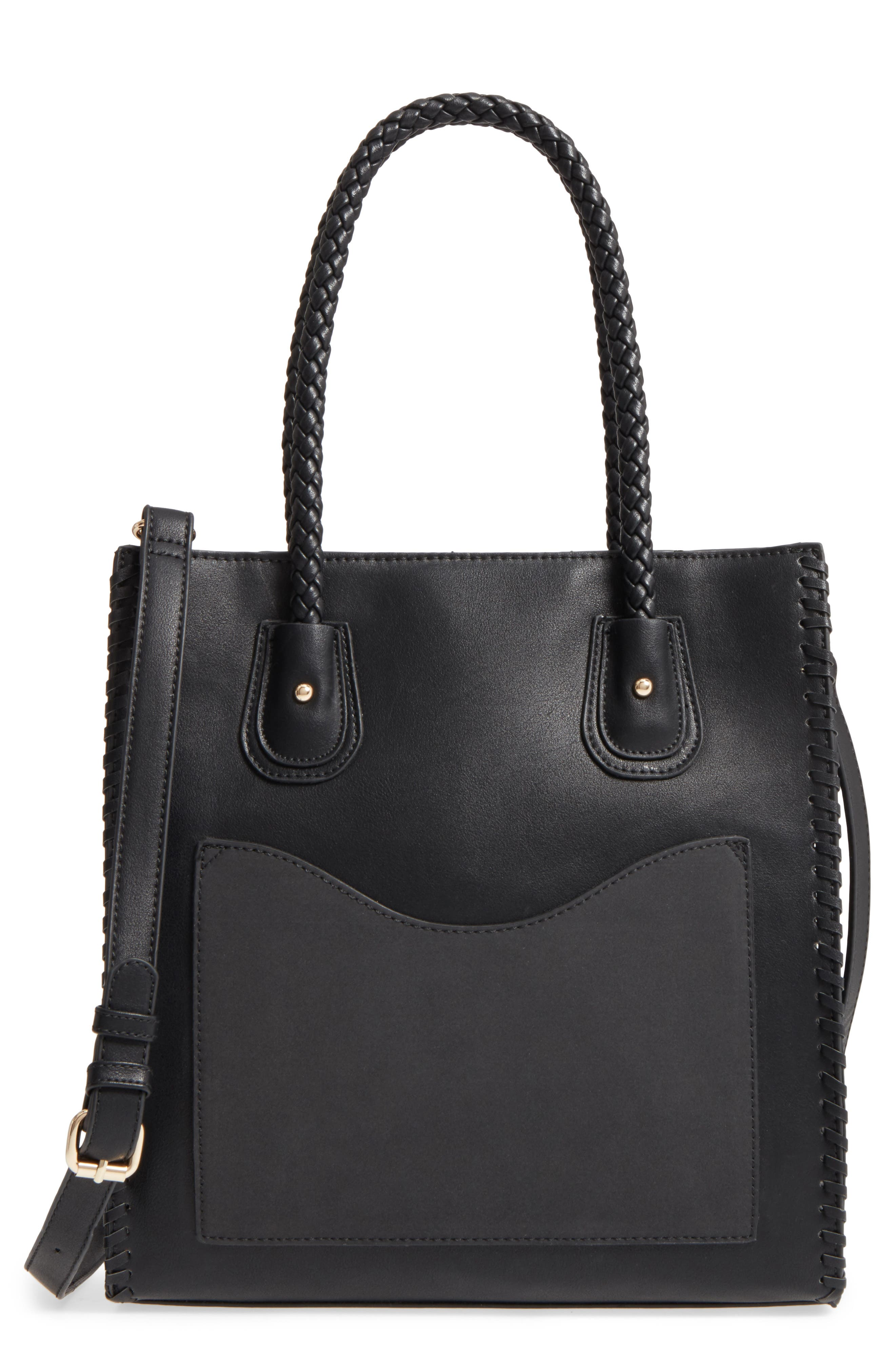 Emperia Whipstitch Faux Leather Tote