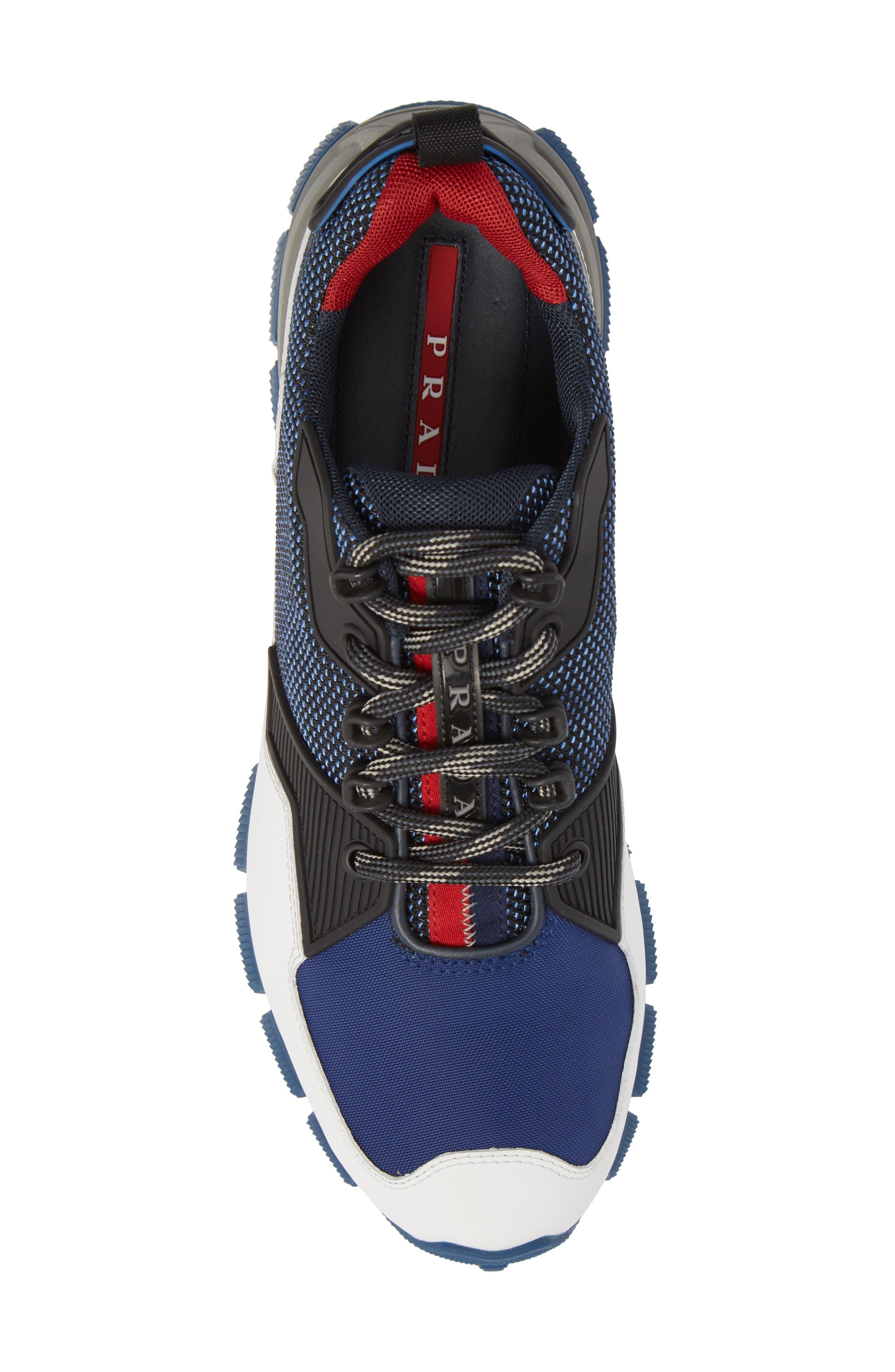 Alternate Image 5  - Prada Linea Rossa Tech Lug Sneaker (Men)