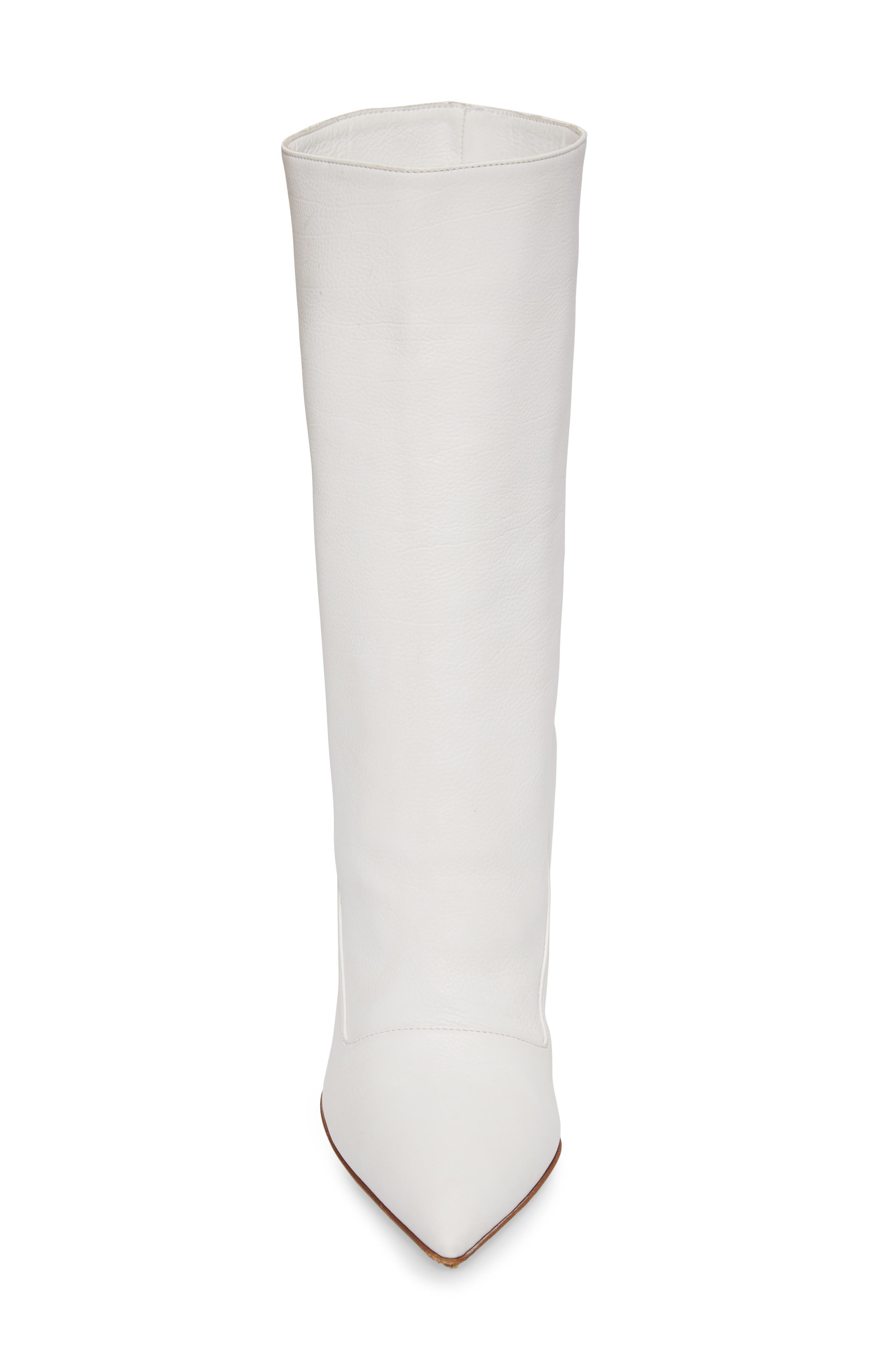 Judd Pointy Toe Boot,                             Alternate thumbnail 4, color,                             White
