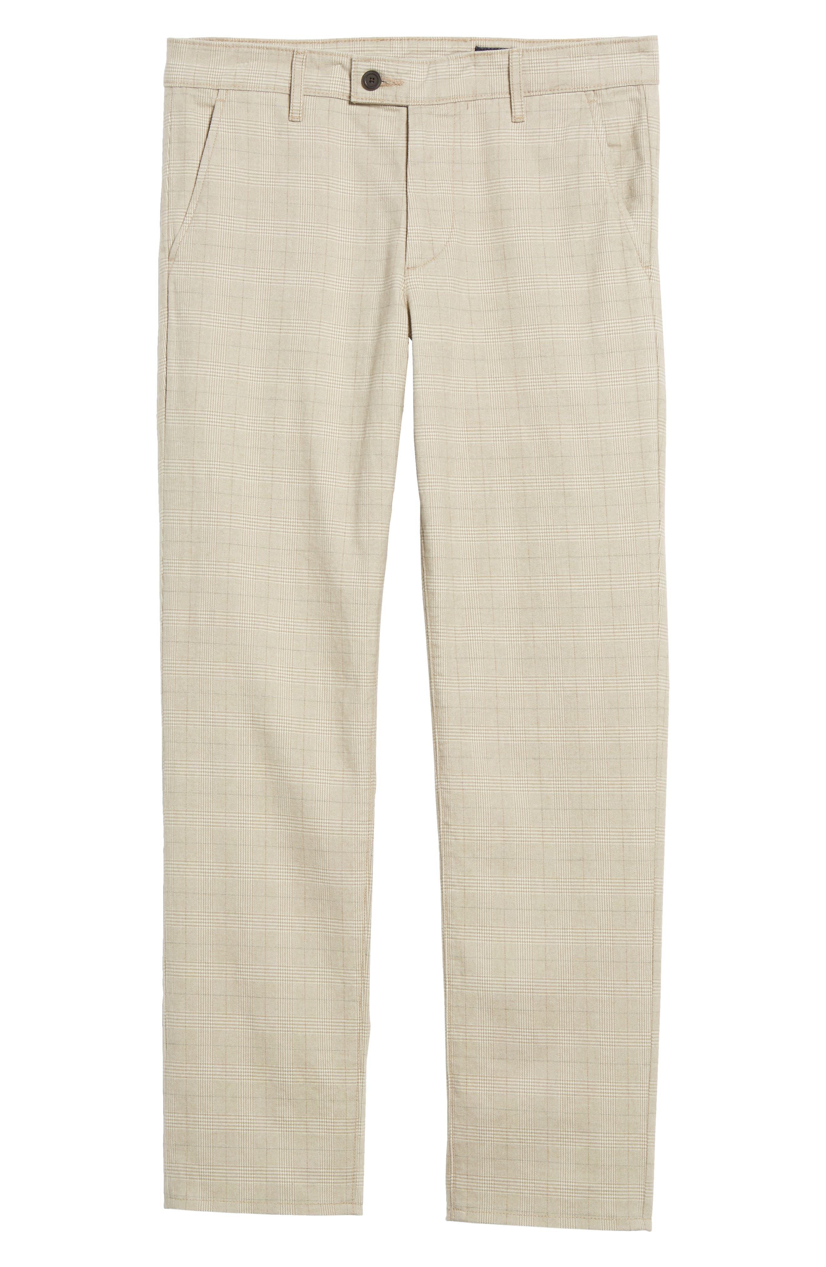 Marshall Slim Fit Pants,                             Alternate thumbnail 7, color,                             Silica Sand