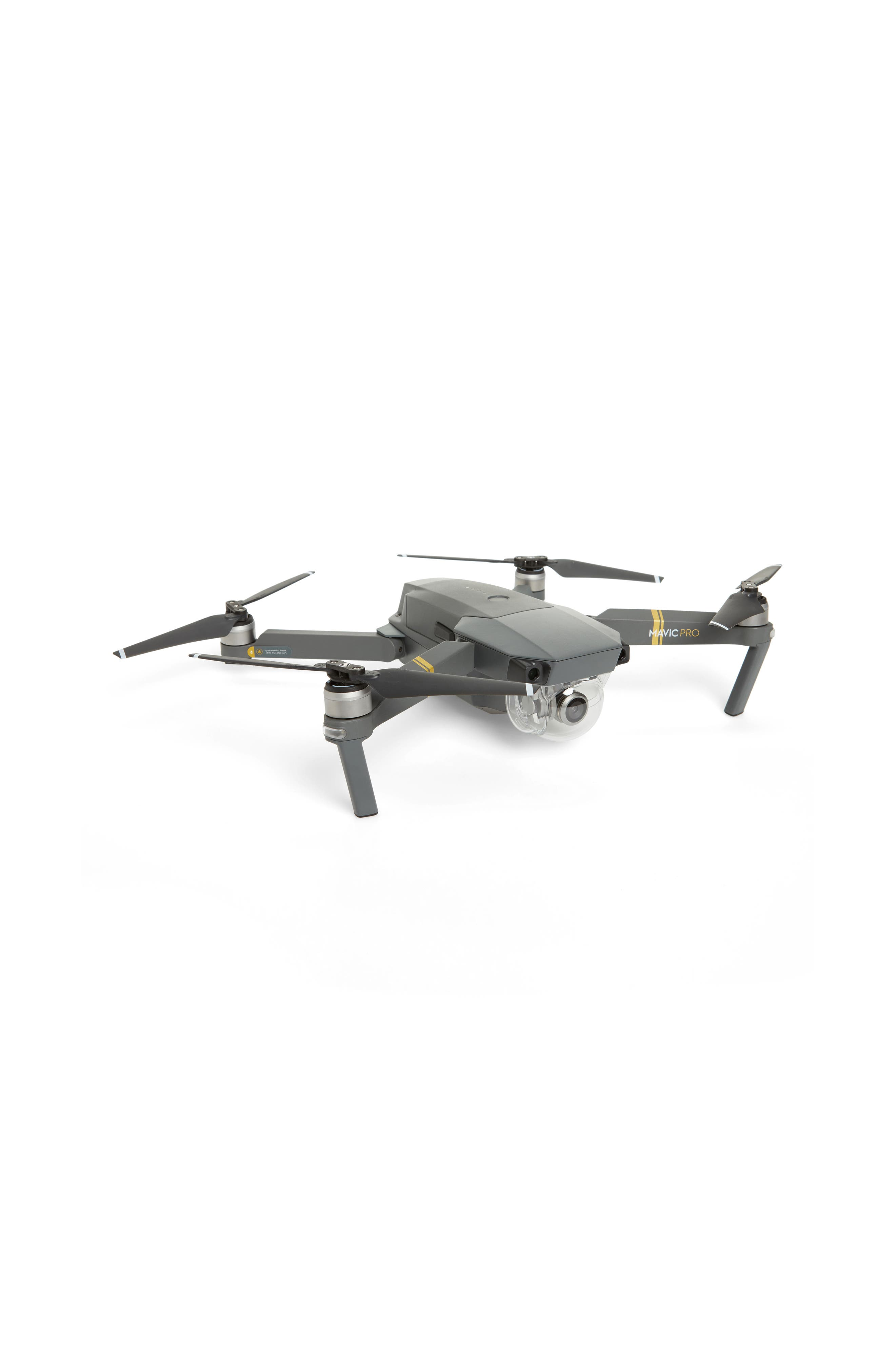 Mavic Pro Fly More Combo Foldable Flying Quadcopter,                             Main thumbnail 1, color,                             Grey