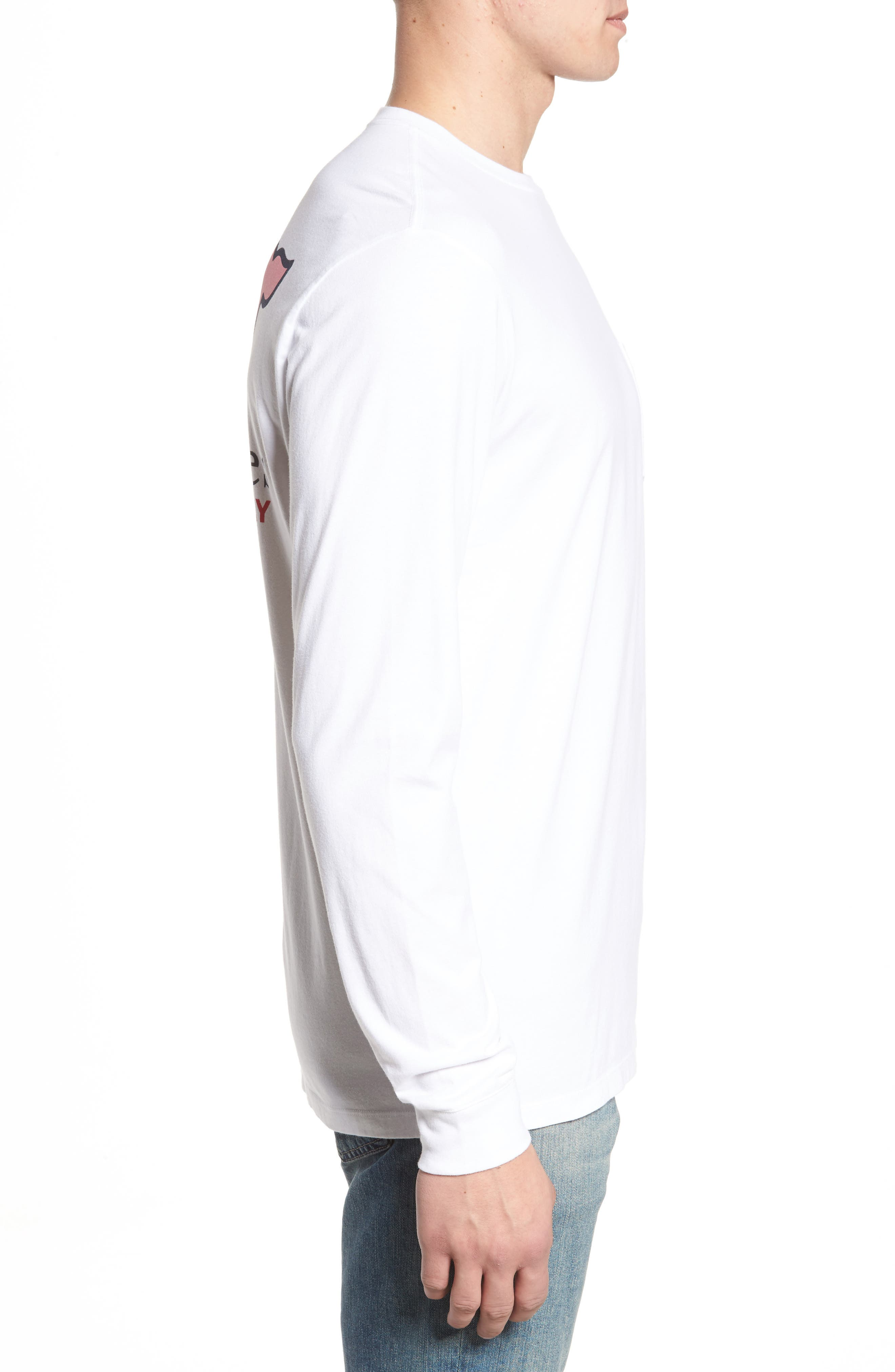 Alternate Image 3  - vineyard vines Cupid Whale Pocket T-Shirt