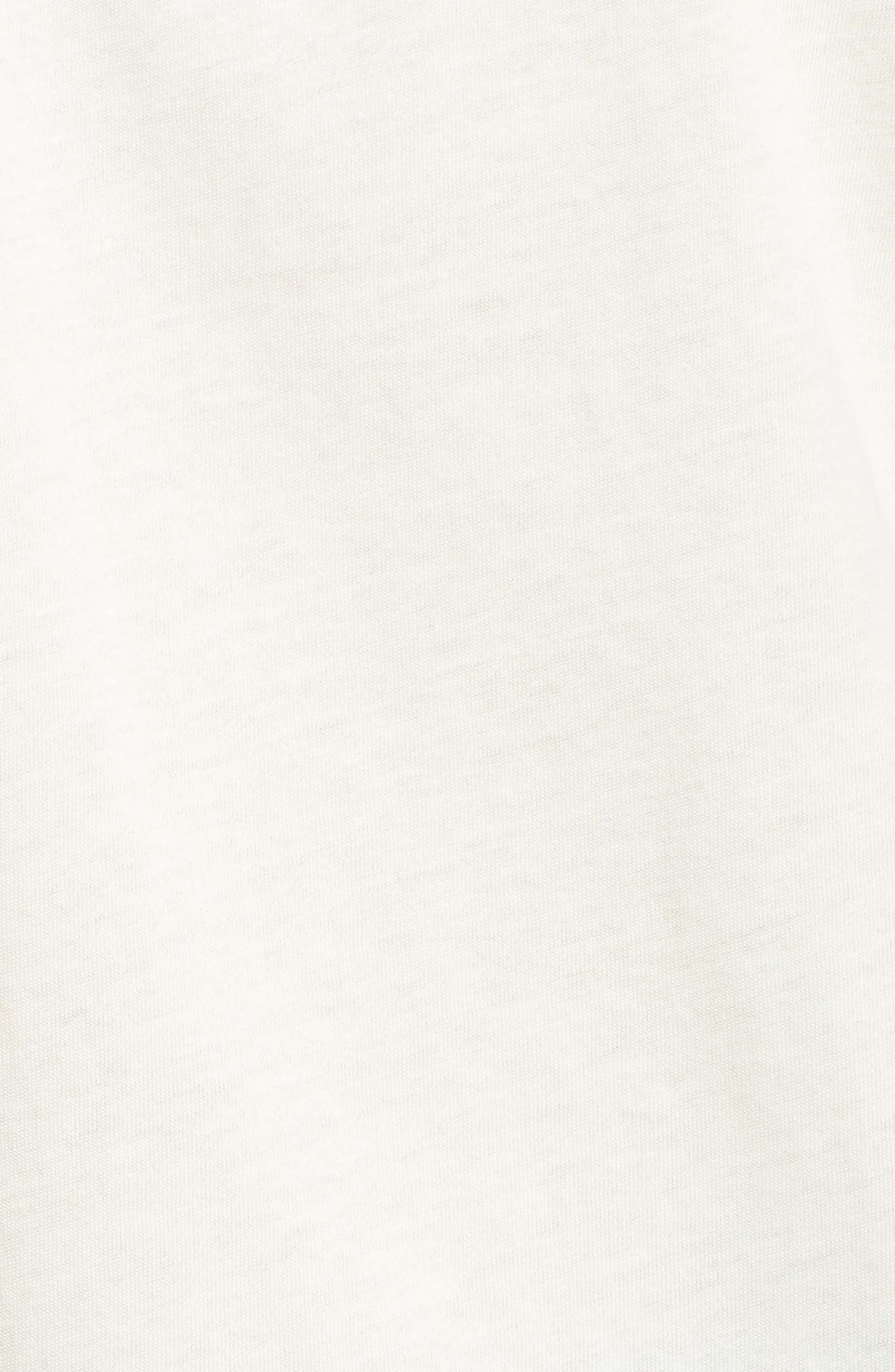 Elevated Tee,                             Alternate thumbnail 5, color,                             Classic White