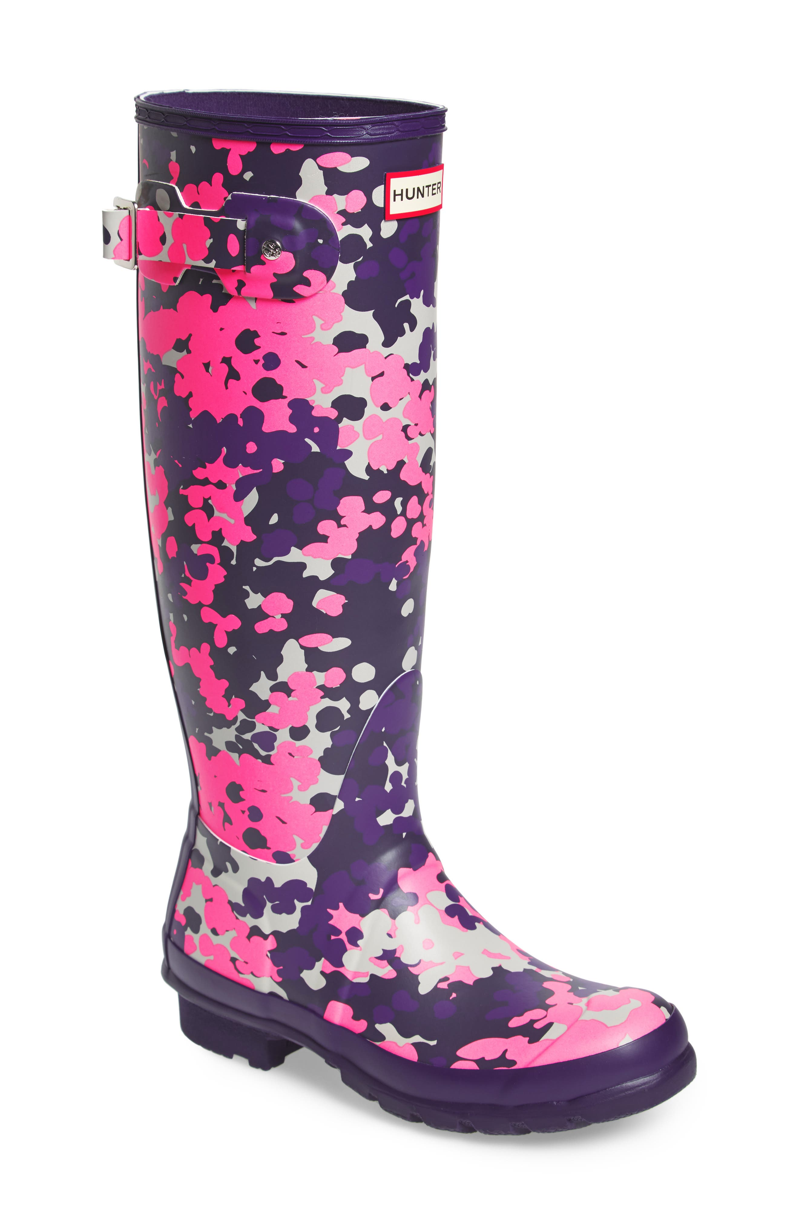 Main Image - Hunter Original Tall - Flectarn Rain Boot (Women)