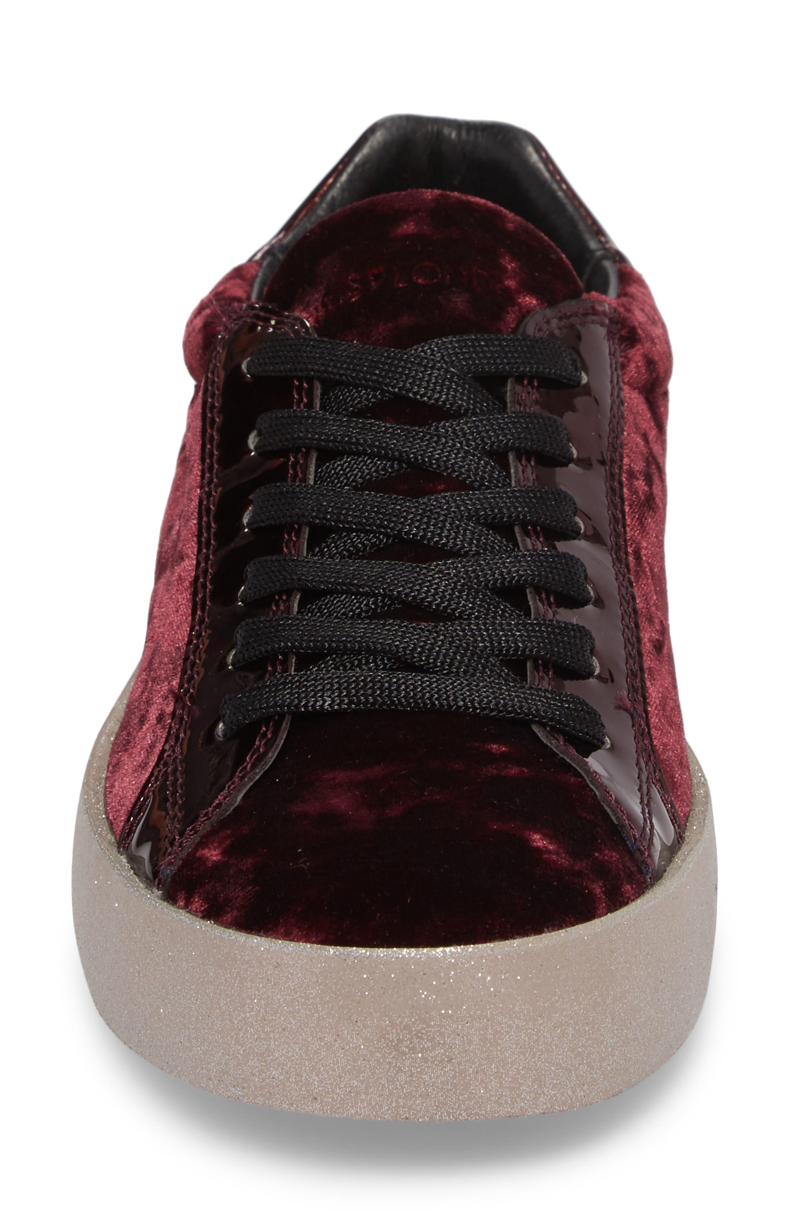 Dynamite Sneaker,                             Alternate thumbnail 4, color,                             Burgundy