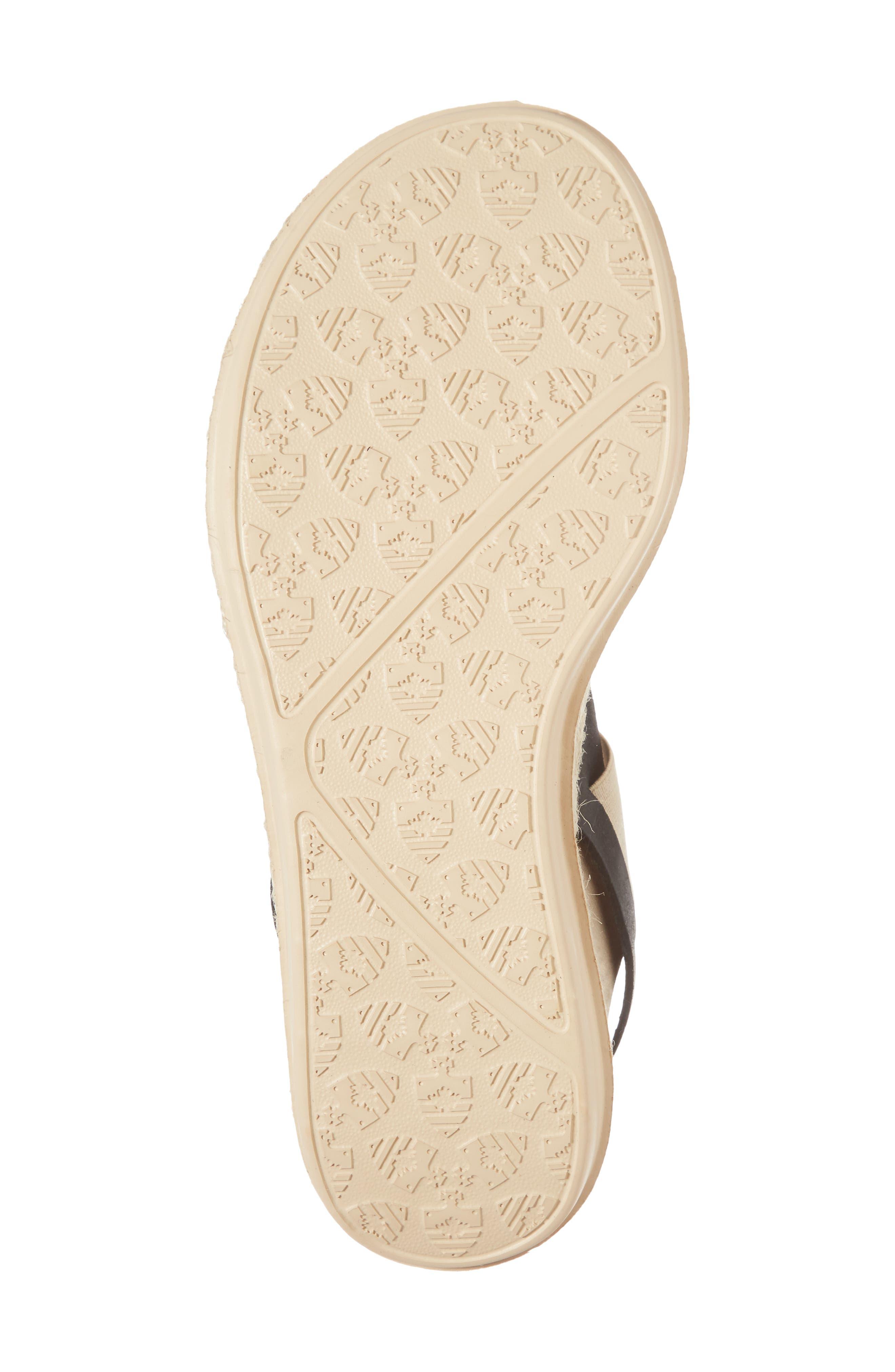 Tobermory Sandal,                             Alternate thumbnail 6, color,                             Black Leather
