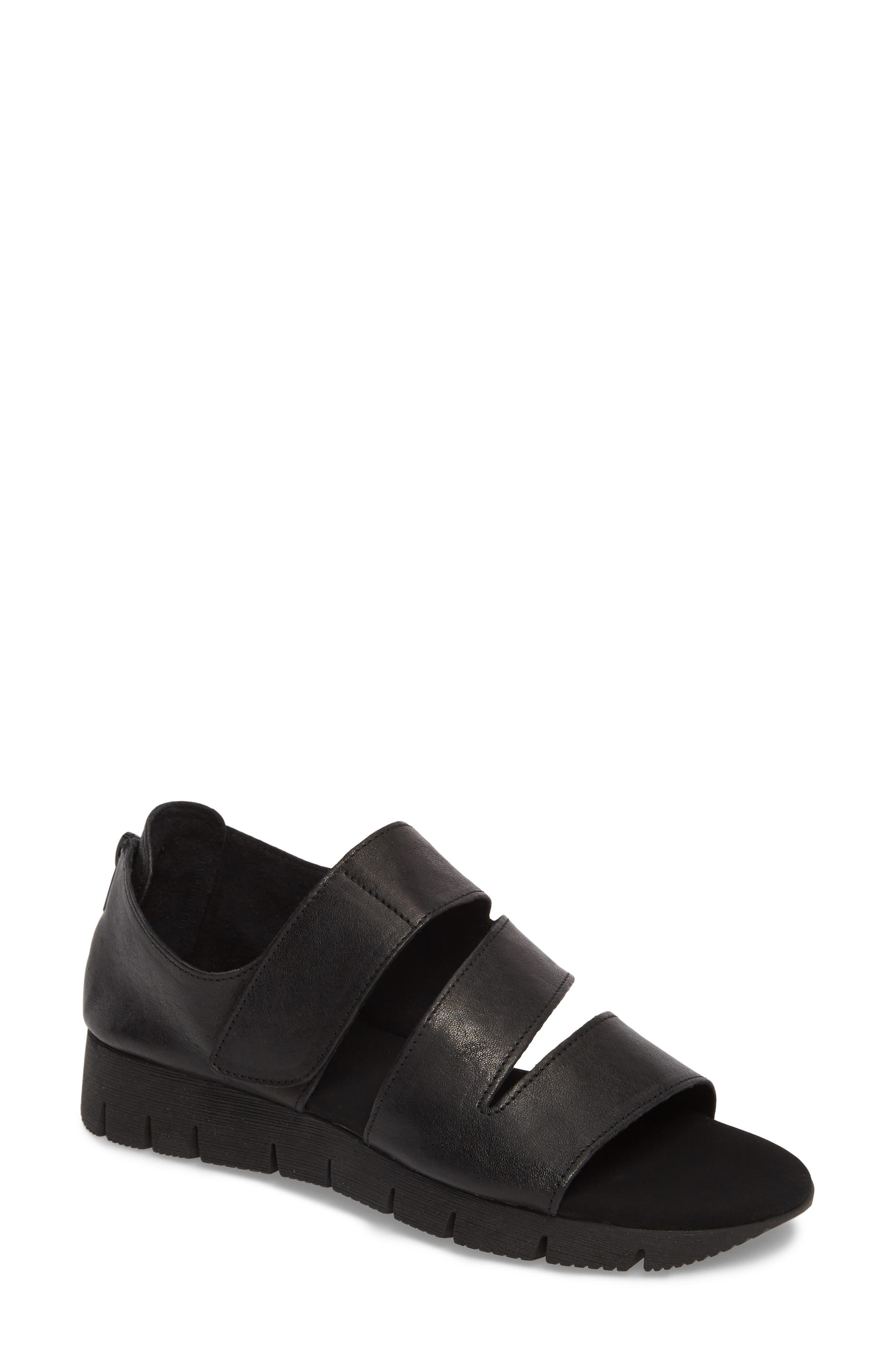 Tango Sandal,                         Main,                         color, Black Rock/ Tory Black Rubber