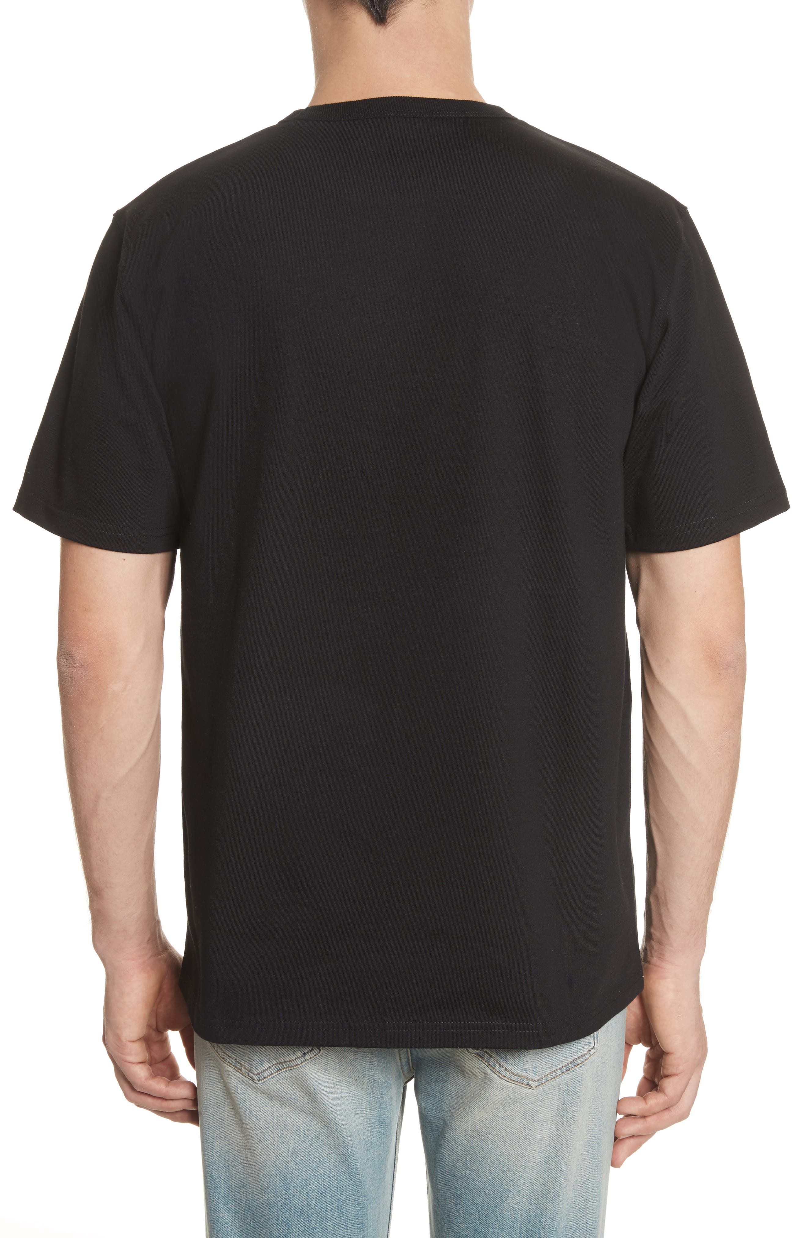 Stray Graphic T-Shirt,                             Alternate thumbnail 2, color,                             Black/ Wax