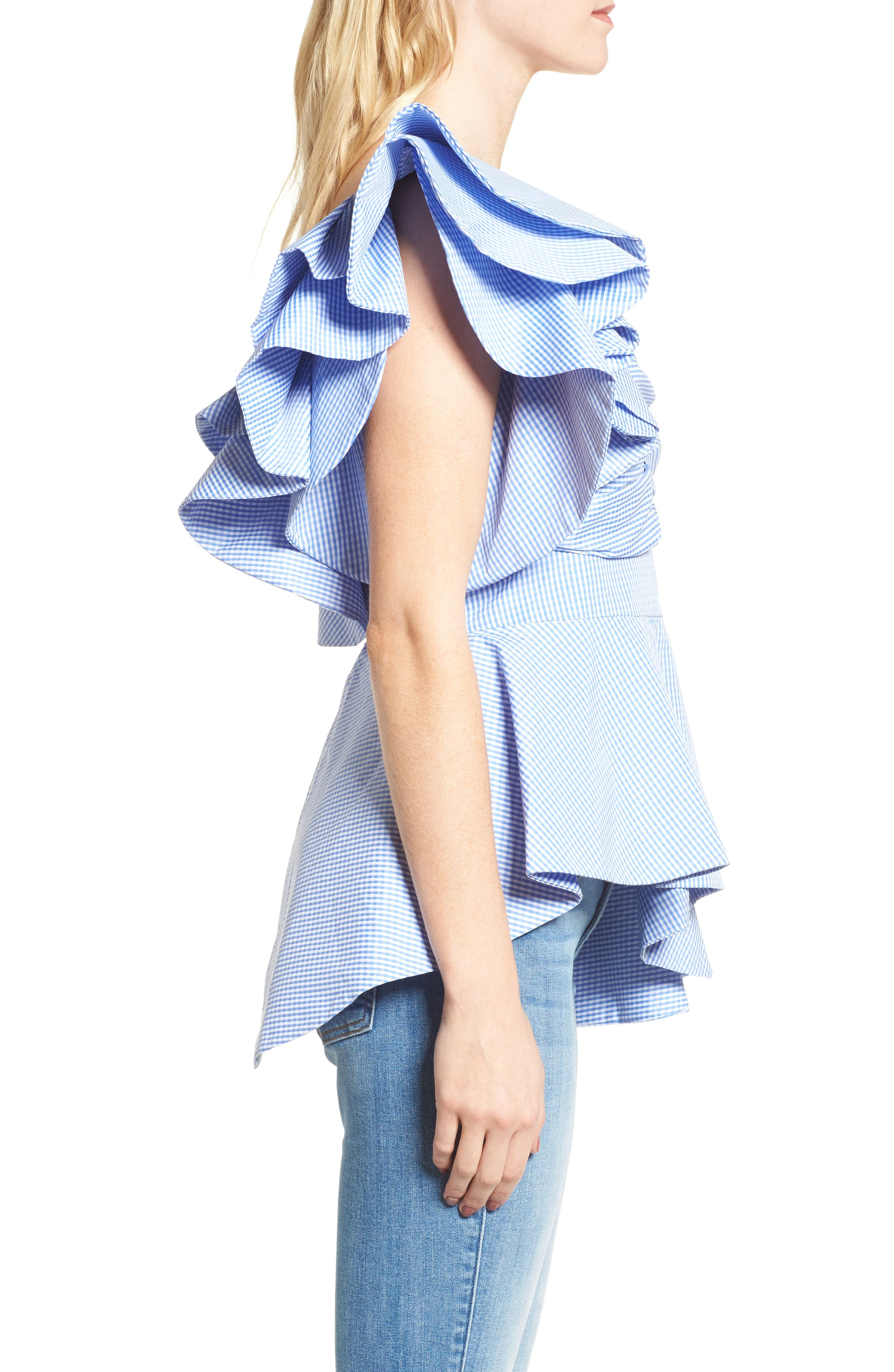 Alternate Image 3  - StyleKeepers Private Cruise One-Shoulder Top
