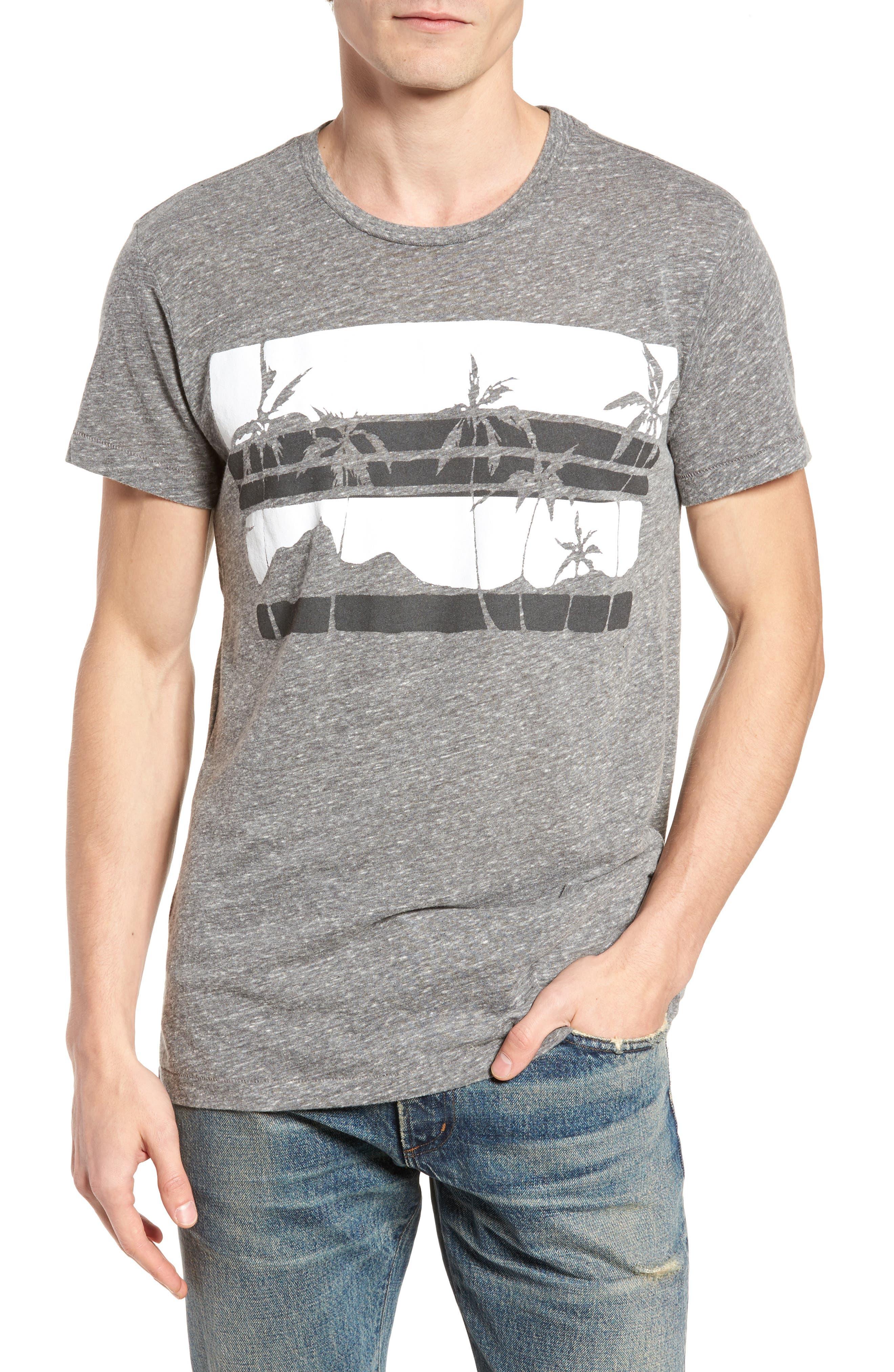 Las Palmas T-Shirt,                         Main,                         color, Heather Grey