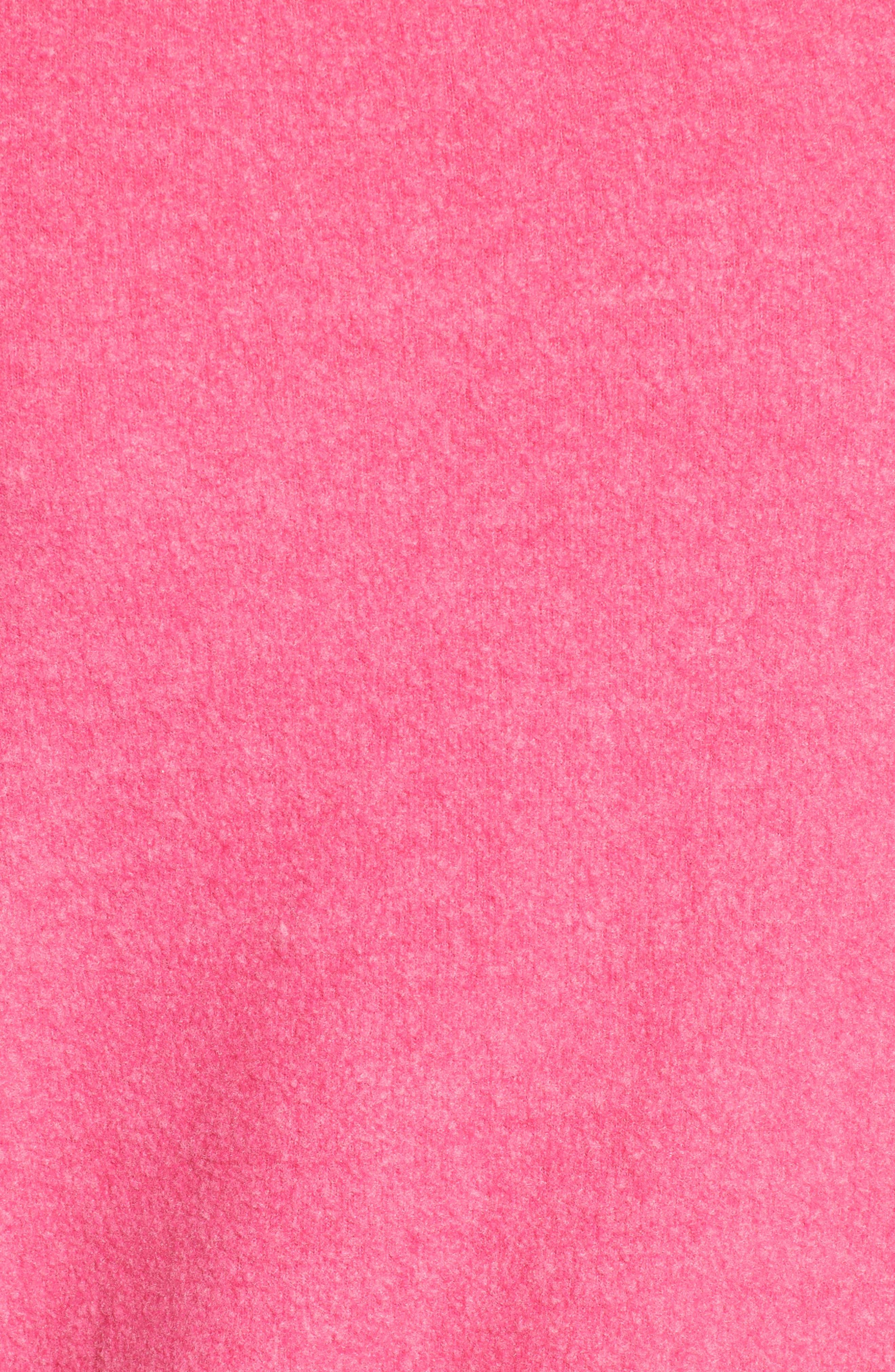 Jet Lagged Sweatshirt,                             Alternate thumbnail 5, color,                             Malibu Pink