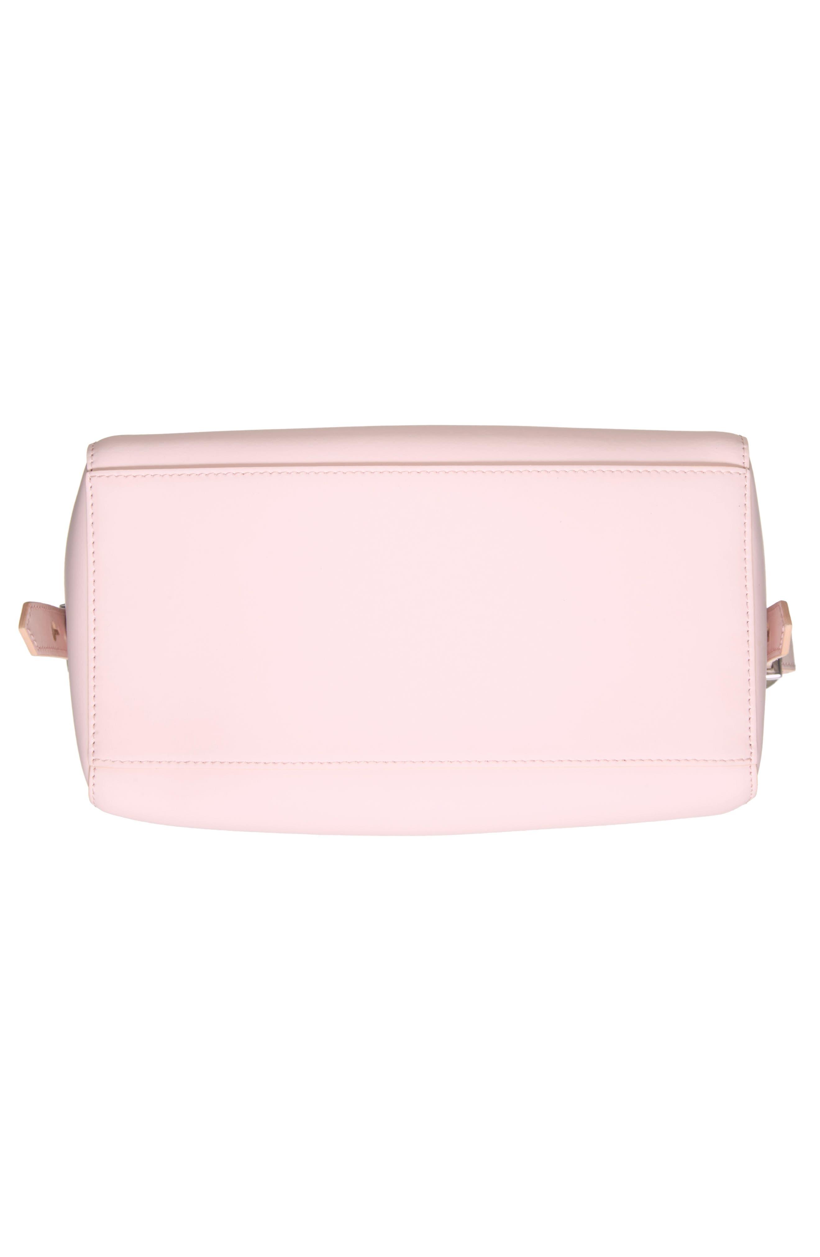 'Mini Kalifornia' Leather Satchel,                             Alternate thumbnail 6, color,                             Faded Pink