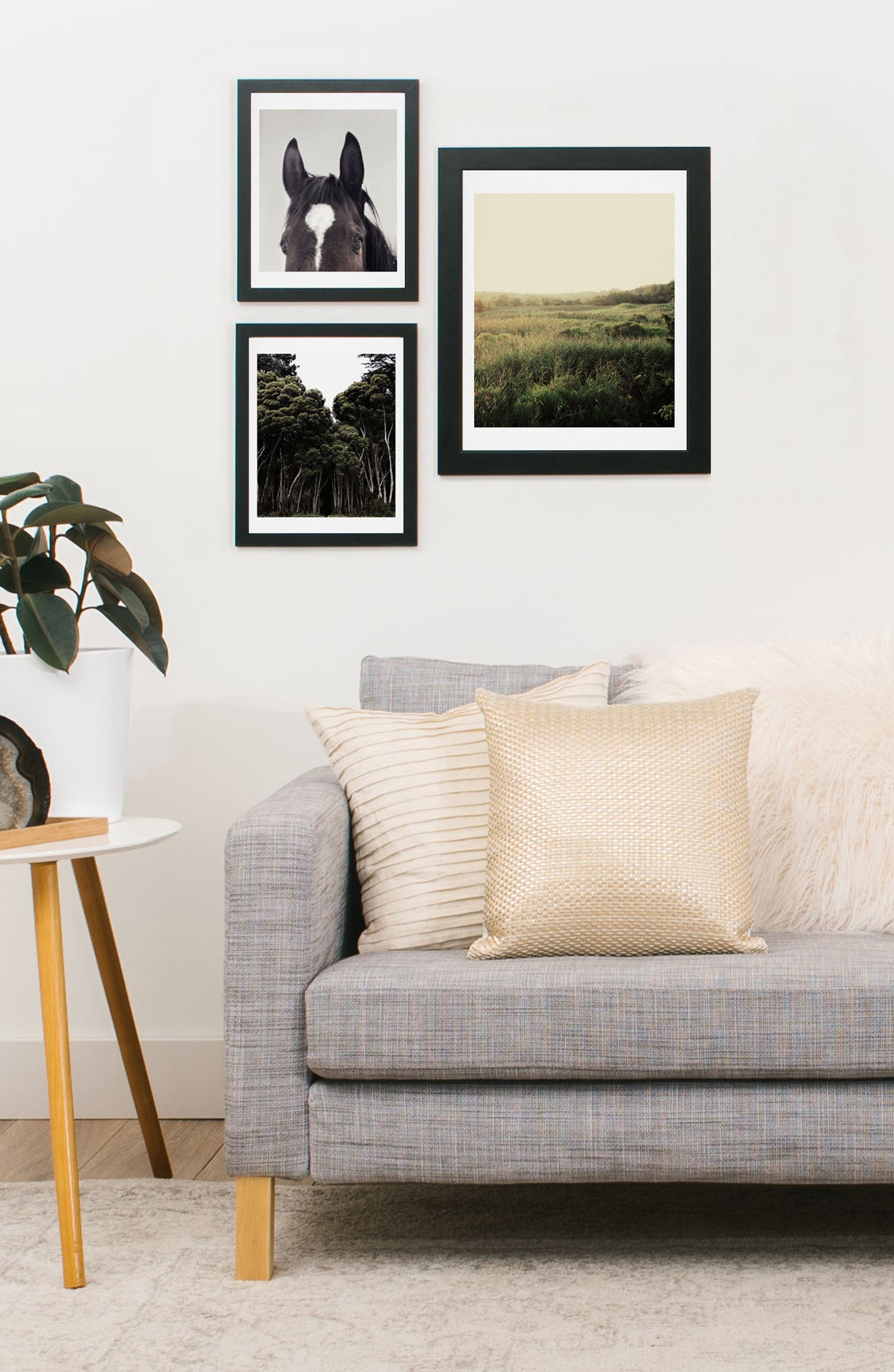 Alternate Image 2  - Deny Designs The Meadow 3-Piece Gallery Wall Art Print Set