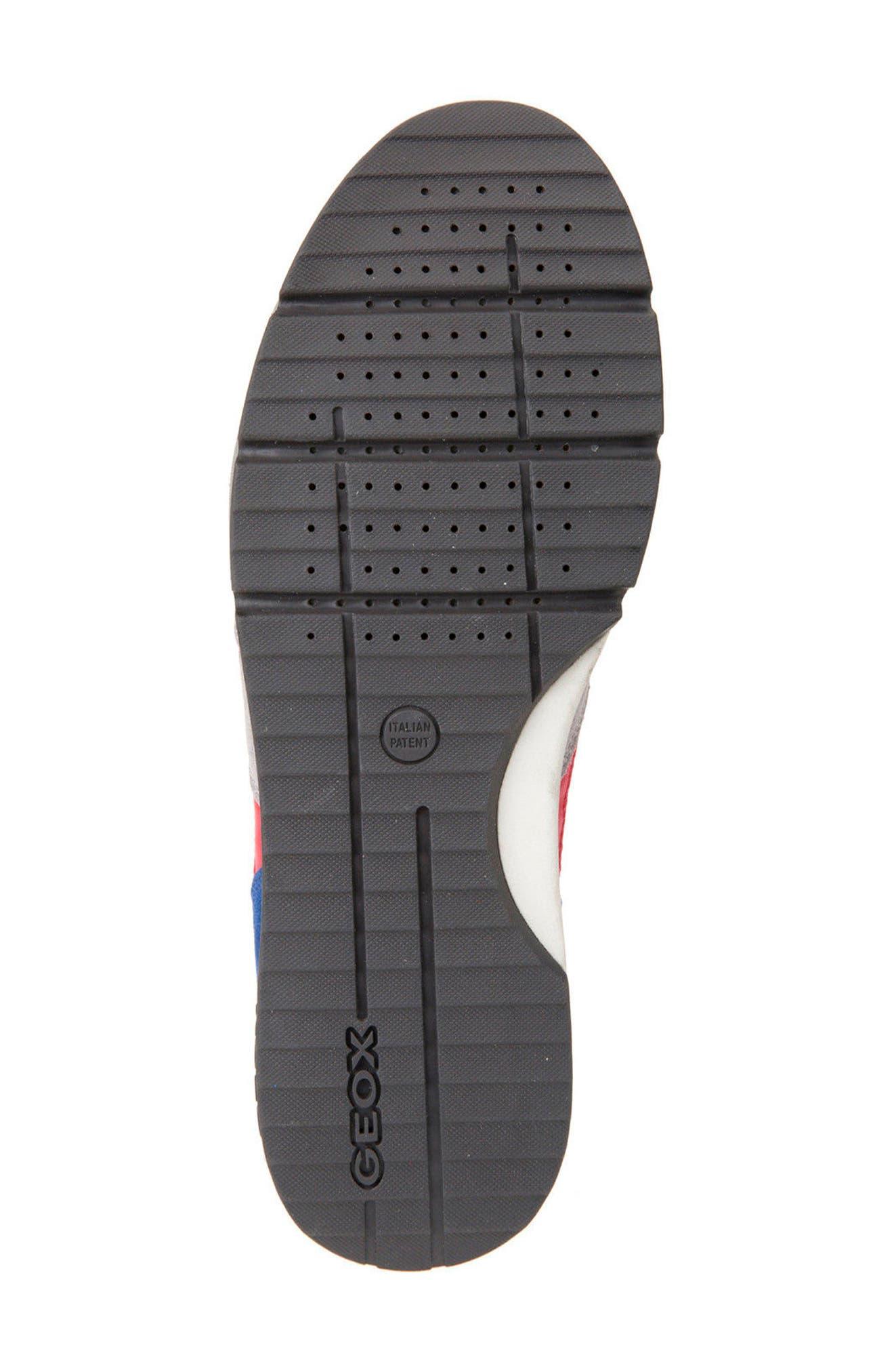 Alternate Image 6  - Geox Sandro ABX Ambphibiox Waterproof Sneaker (Men)