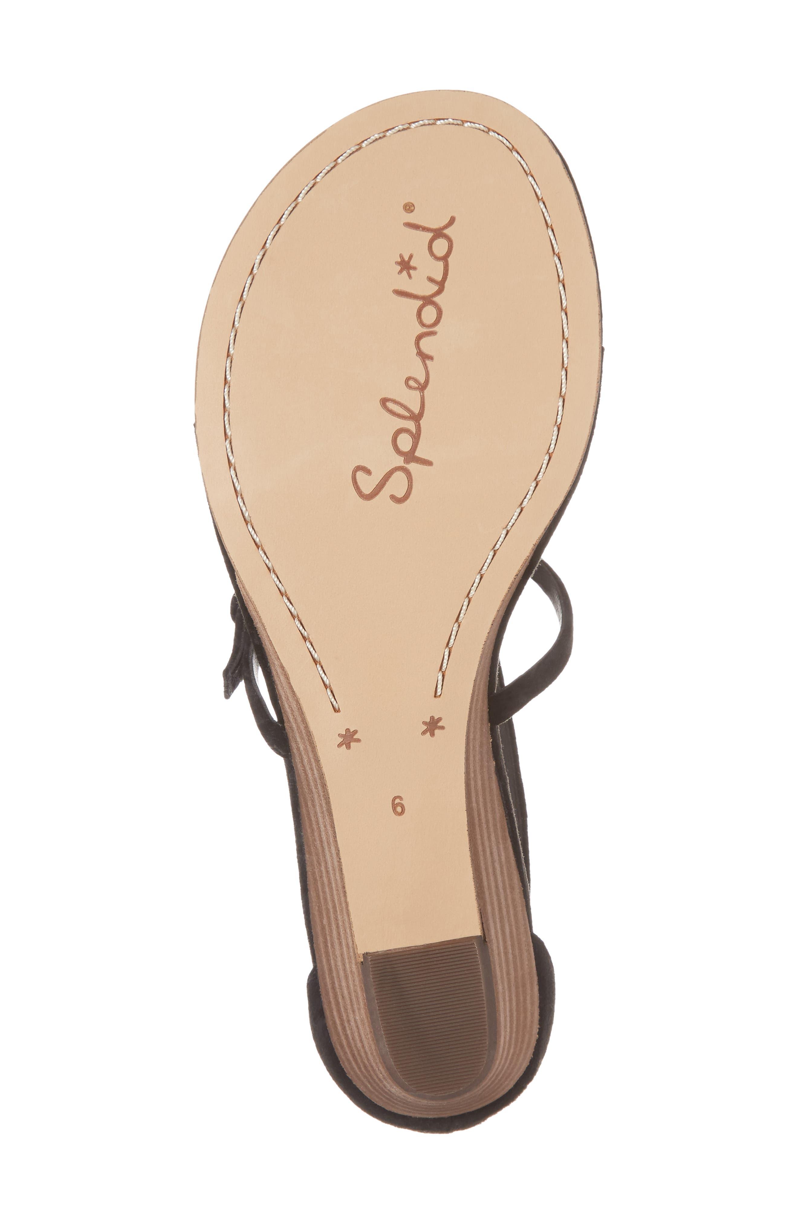 Alternate Image 6  - Splendid Brooklyn V-Strap Wedge Sandal (Women)