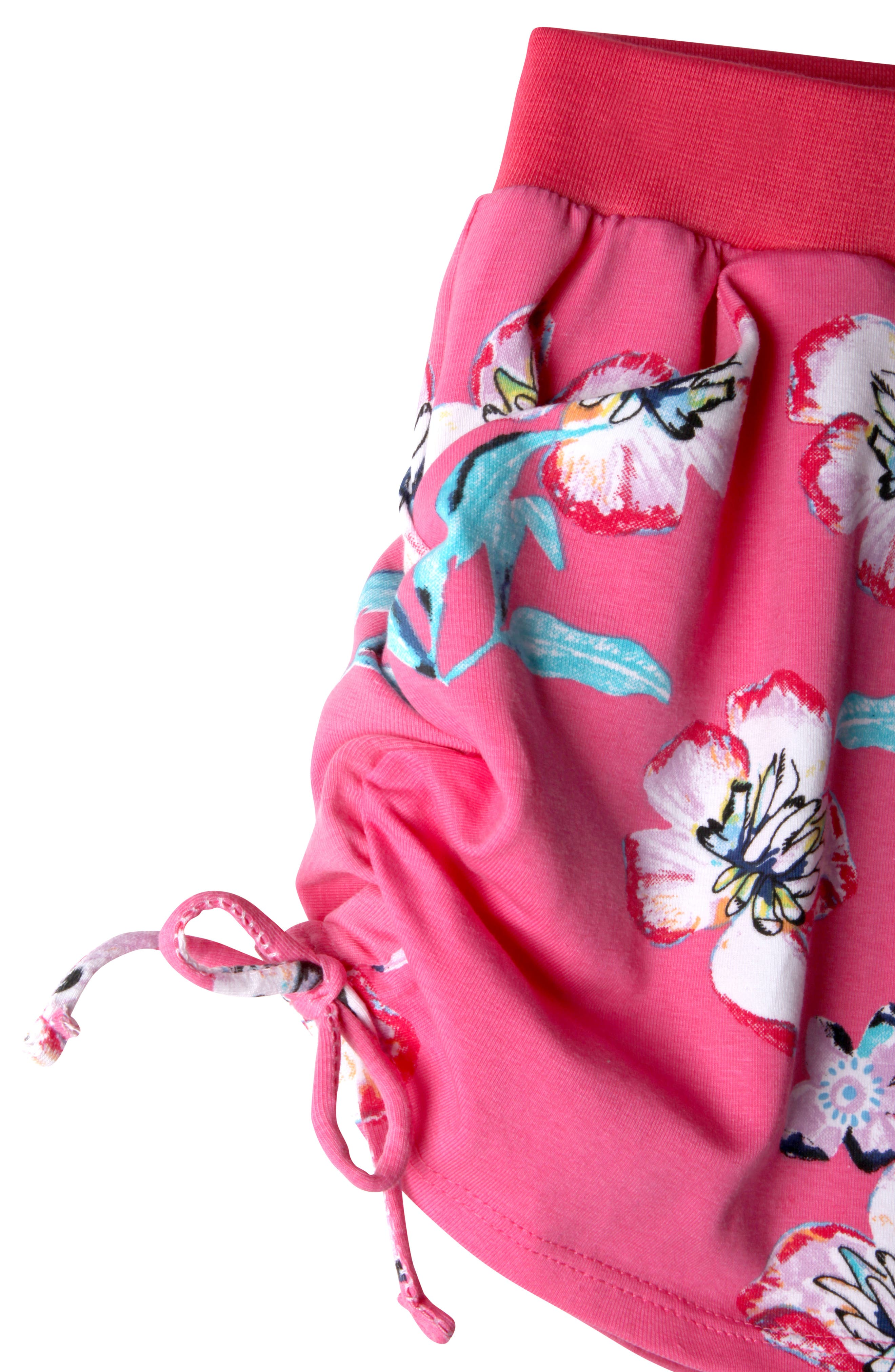 Jordyn Print Shorts,                             Alternate thumbnail 2, color,                             Pink Pil