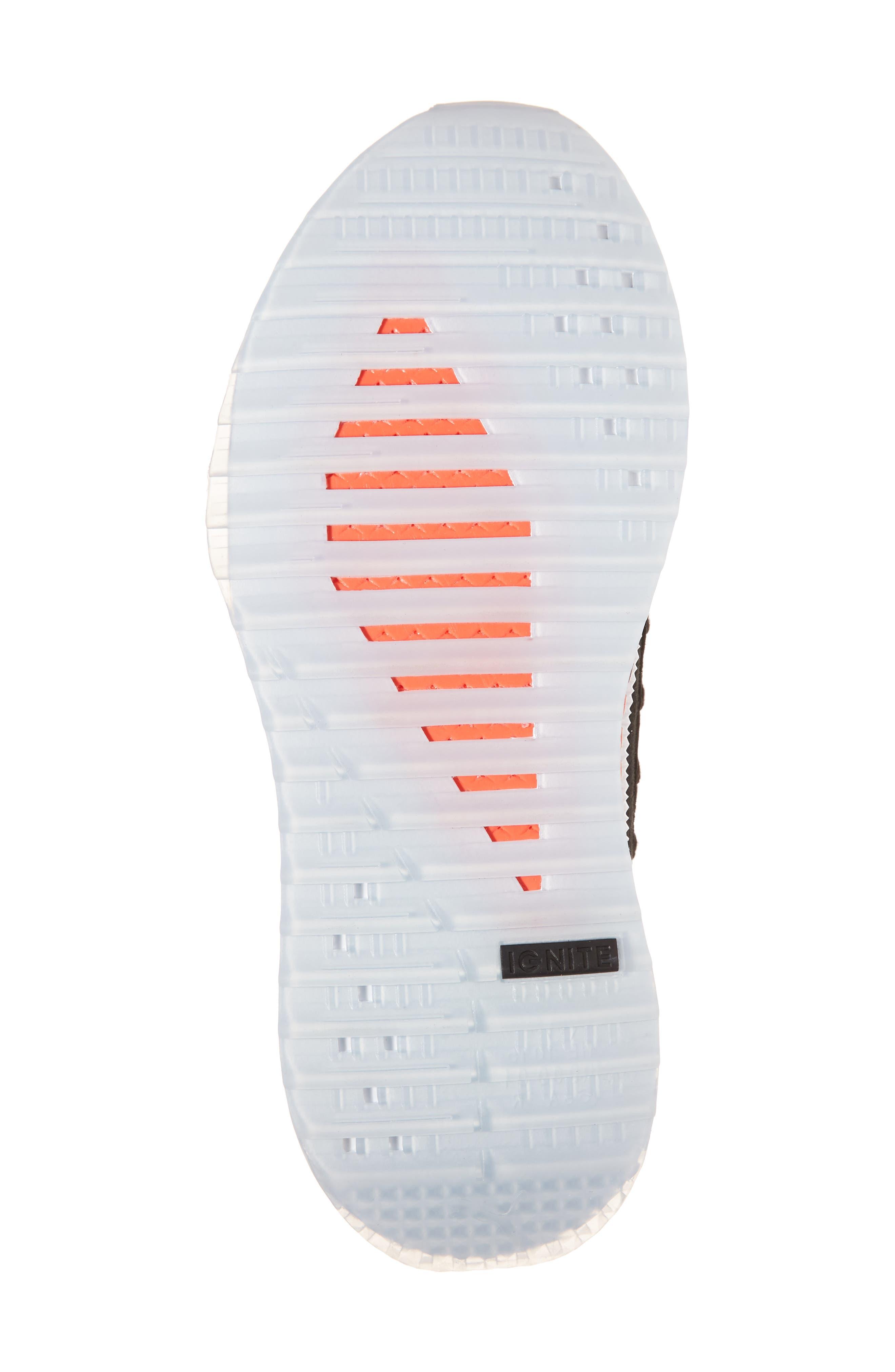 Tsugi Shinsei UT Odyssey Sneaker,                             Alternate thumbnail 6, color,                             Black/White/Flame Scarlet
