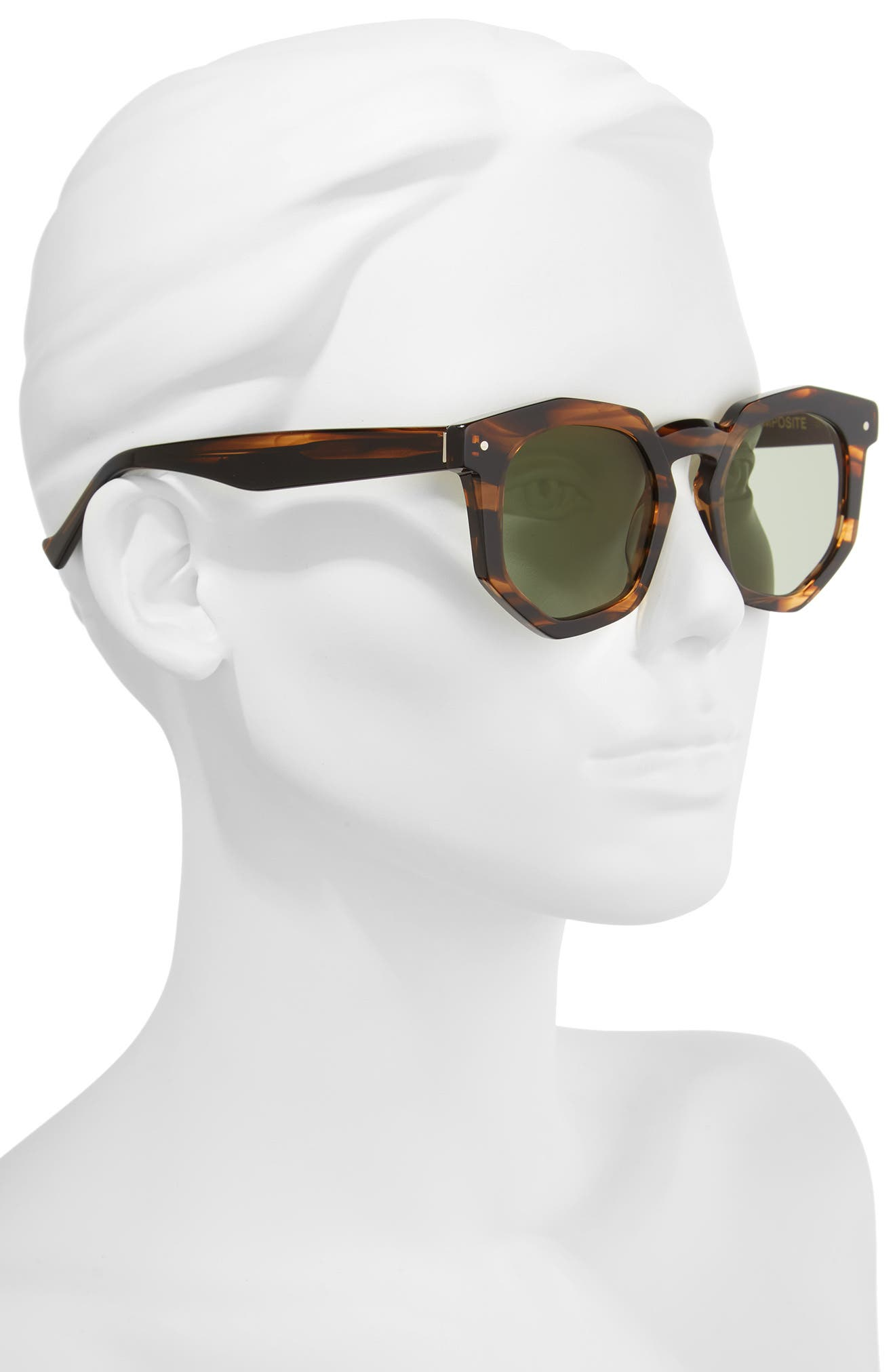 Alternate Image 2  - Grey Ant Composite 47mm Sunglasses