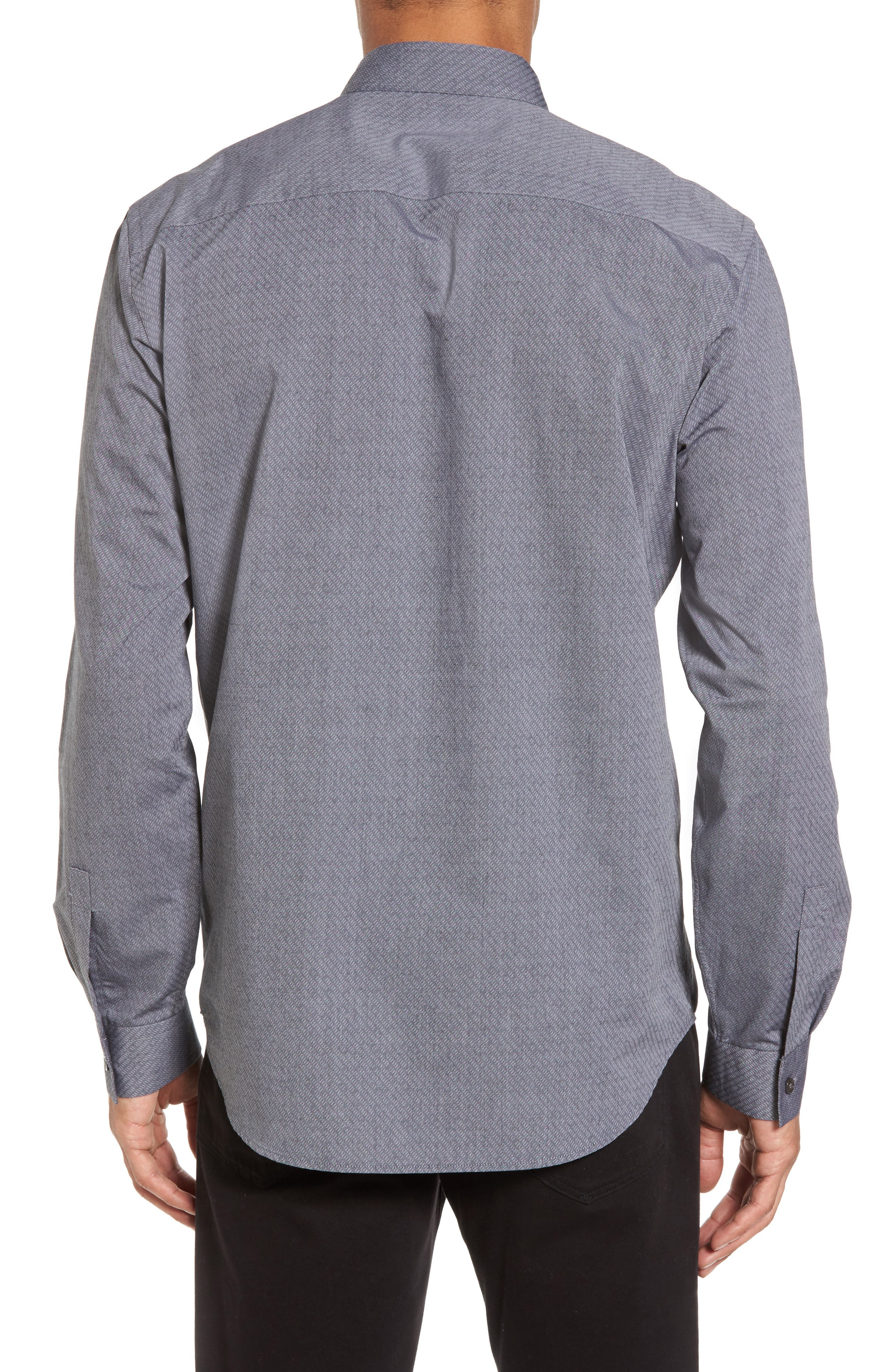 Alternate Image 2  - Theory Storm Trim Fit Solid Sport Shirt