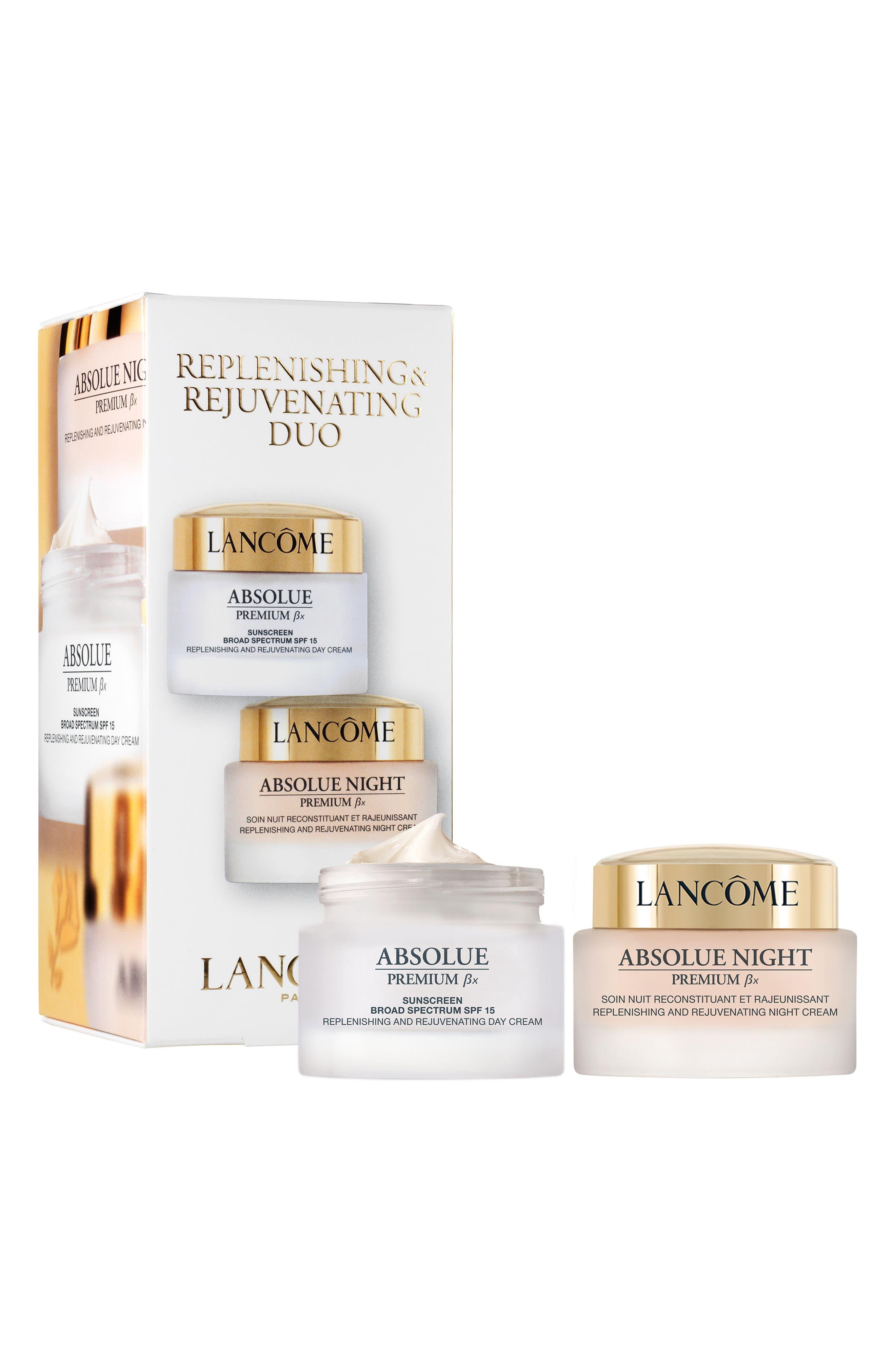 Main Image - Lancôme Absolue Premium Bx Replenishing & Rejuvenating Duo ($370 Value)