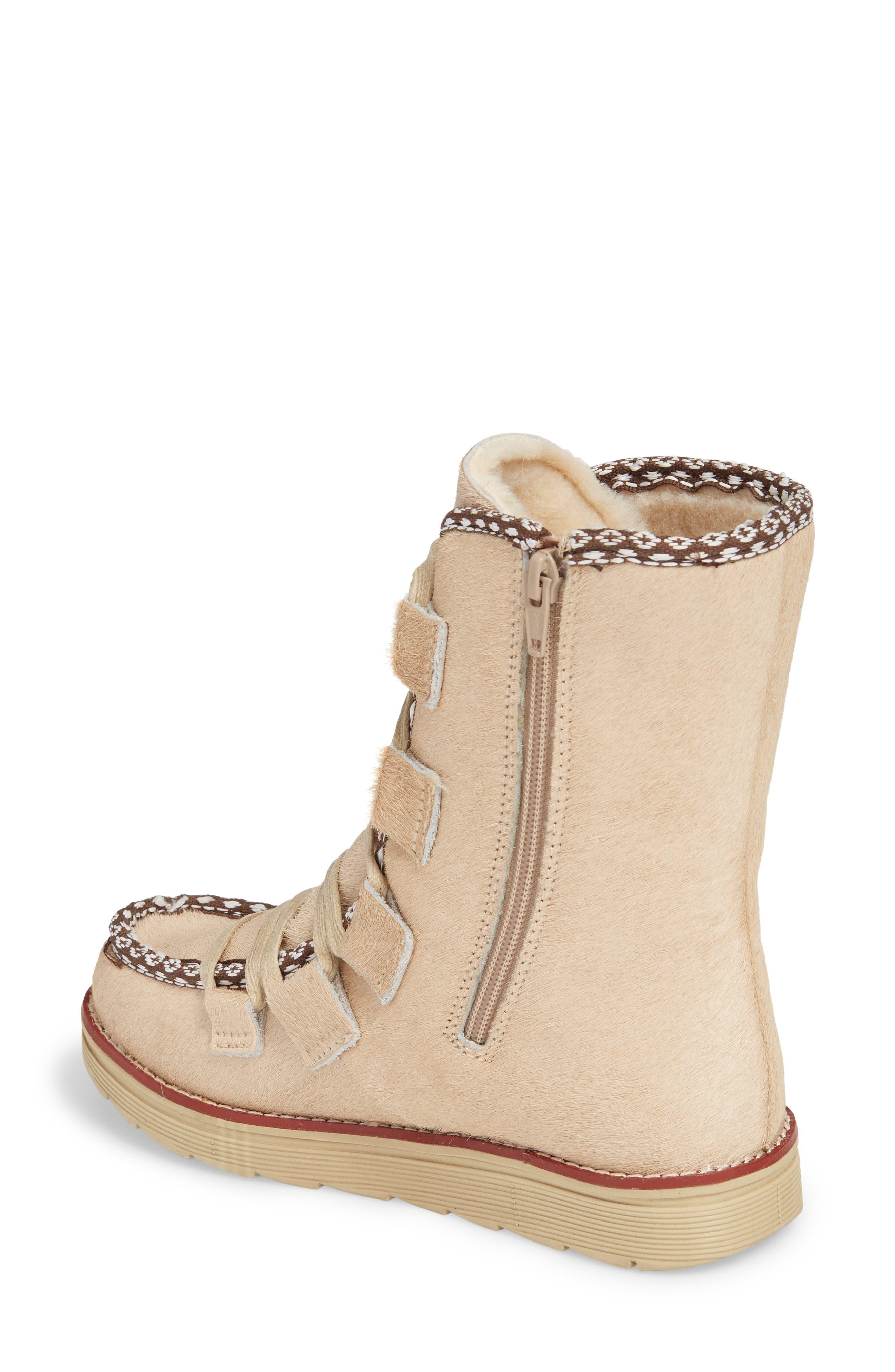 Alternate Image 2  - Royal Canadian Kitchener Waterproof Genuine Calf Hair Snow Boot (Women)