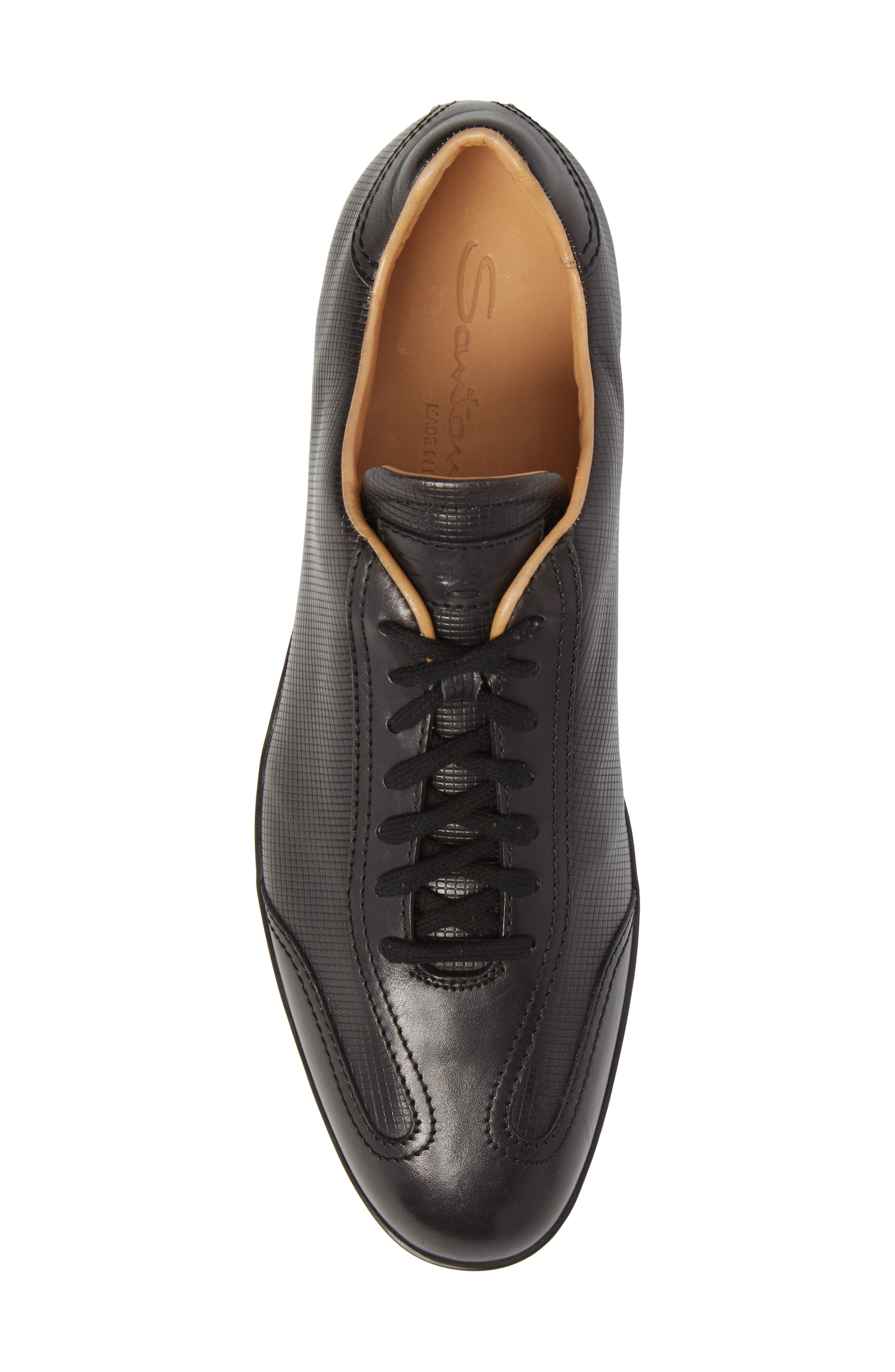 'Cortez' Sneaker,                             Alternate thumbnail 5, color,                             Brown Leather