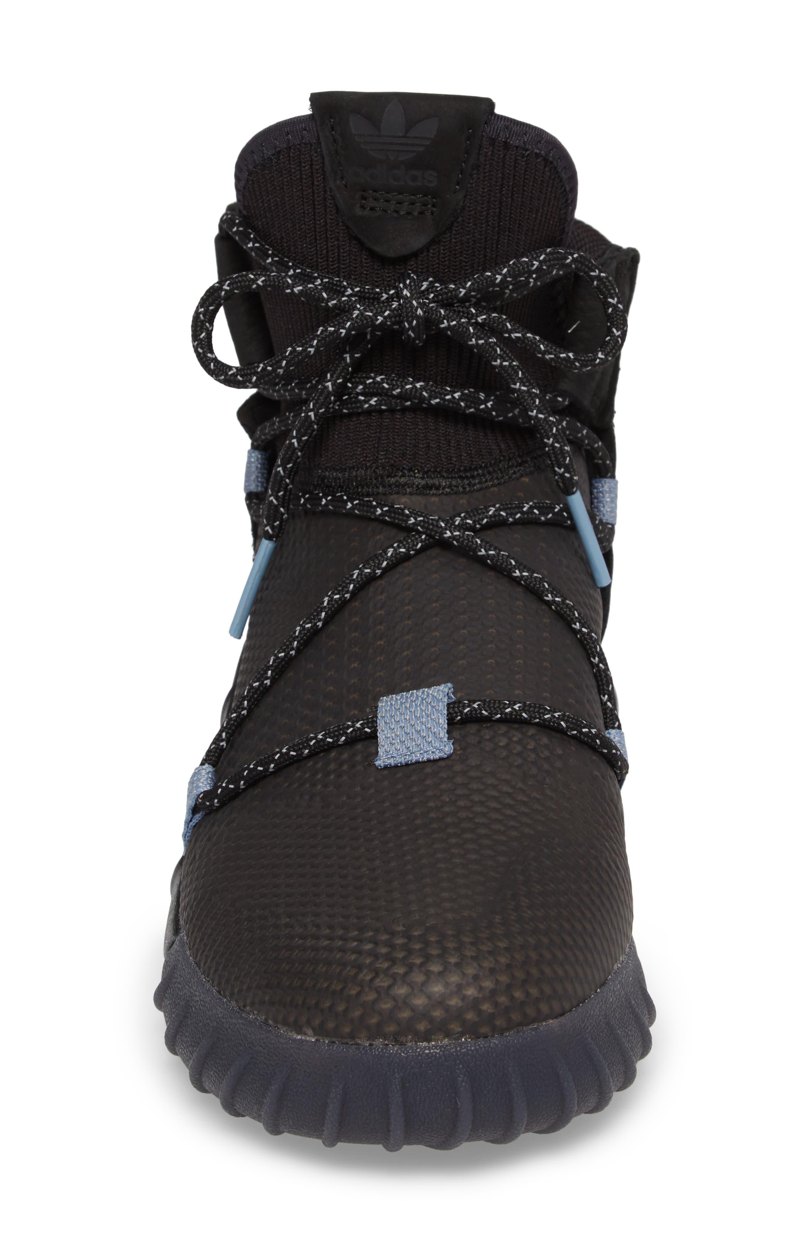 Tubular X 2.0 PK Sneaker,                             Alternate thumbnail 4, color,                             Core Black