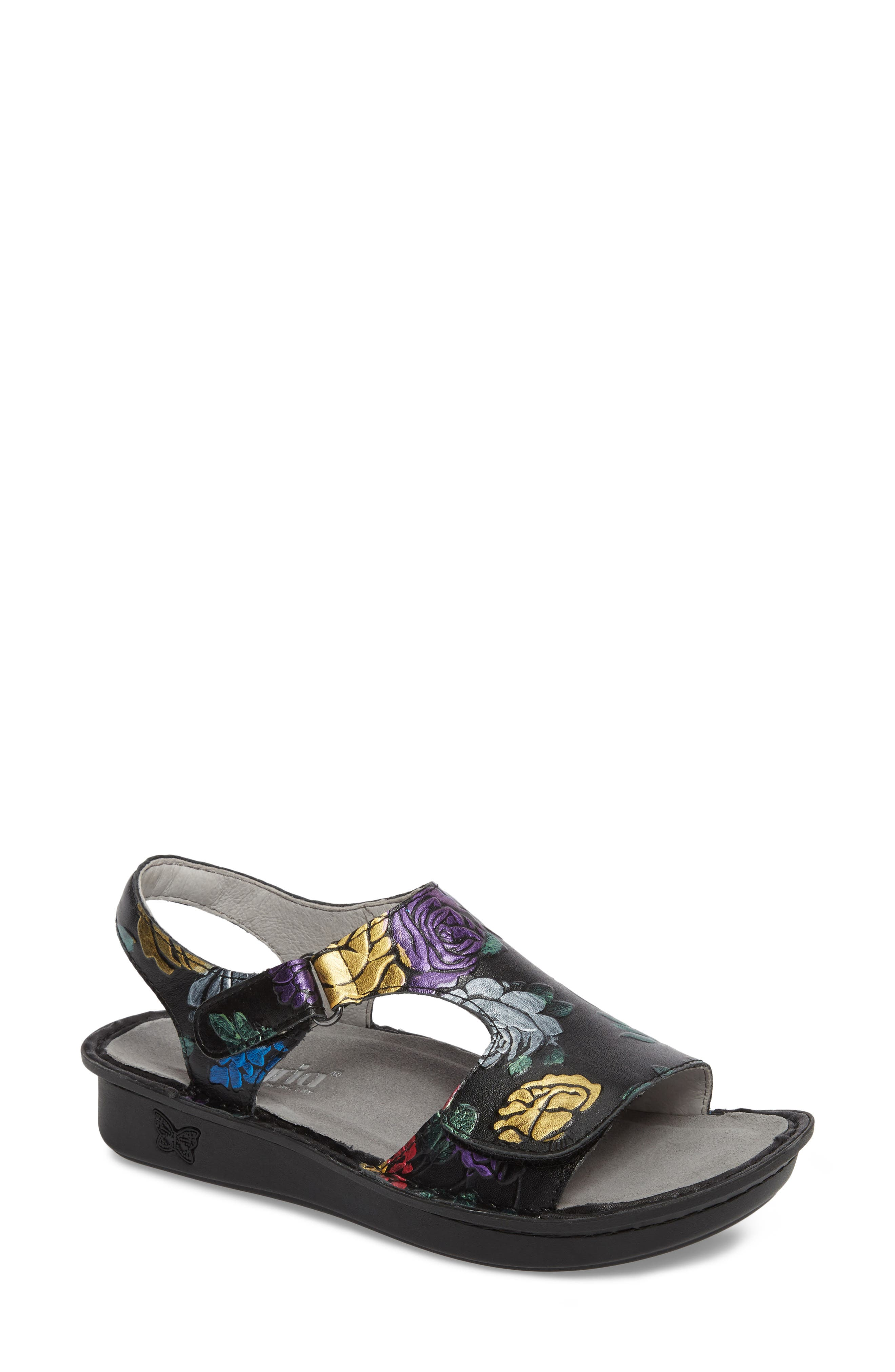 Alternate Image 1 Selected - Alegria Viki Embroidered Sandal (Women)