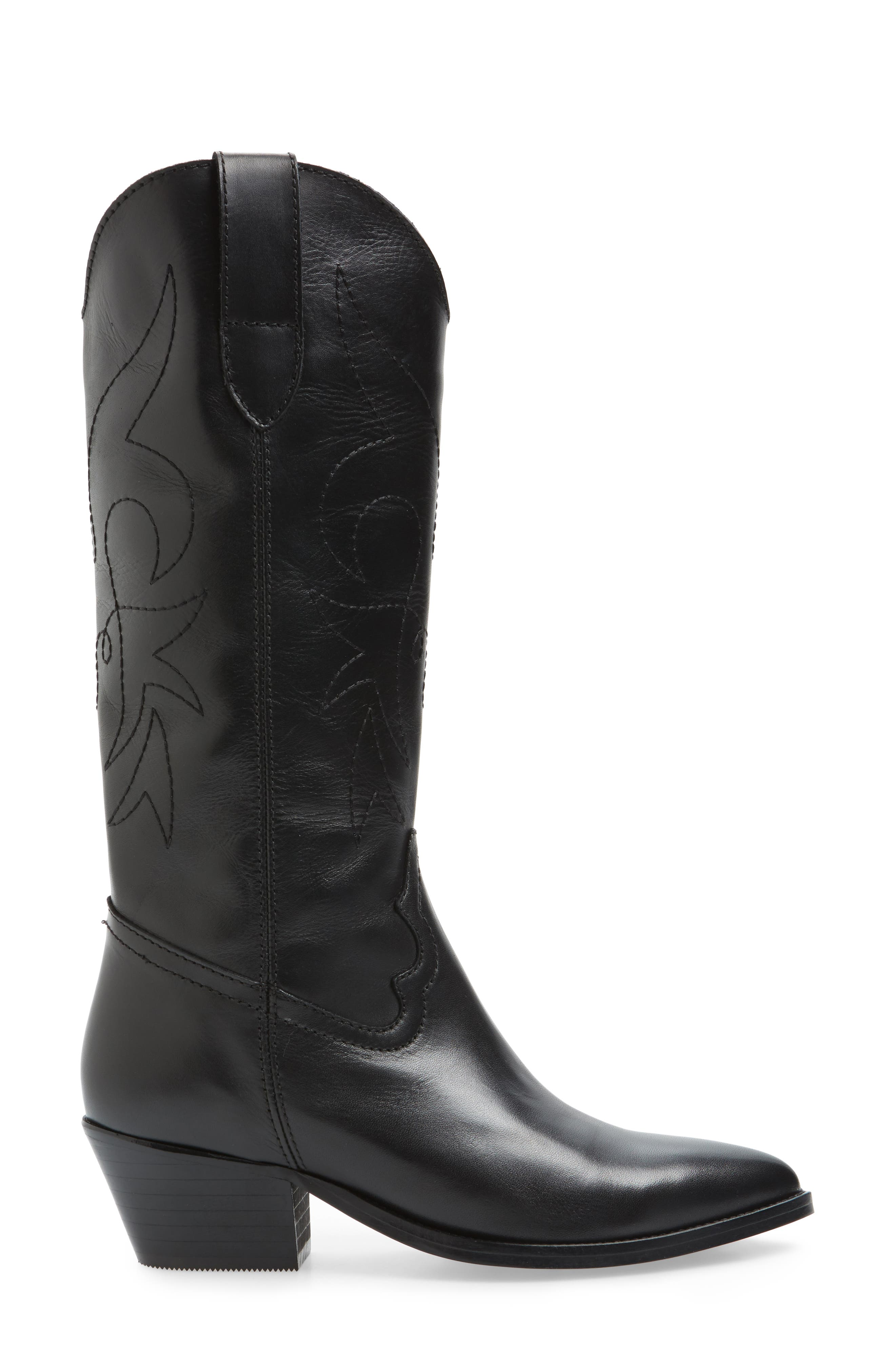 Alternate Image 3  - Topshop Devious Western Boots (Women)